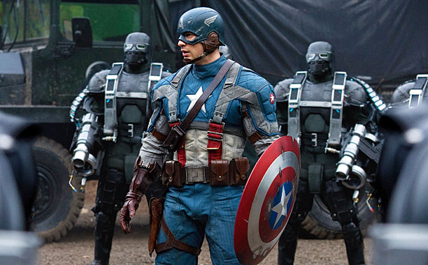 Marvel, The Avengers | You've got a supporting cast stacked high with ringers doing top-notch work: Wry-but-sad Stanley Tucci, crusty-yet-lovable Tommy Lee Jones, sneering Hugo Weaving, sniveling Toby Jones,…