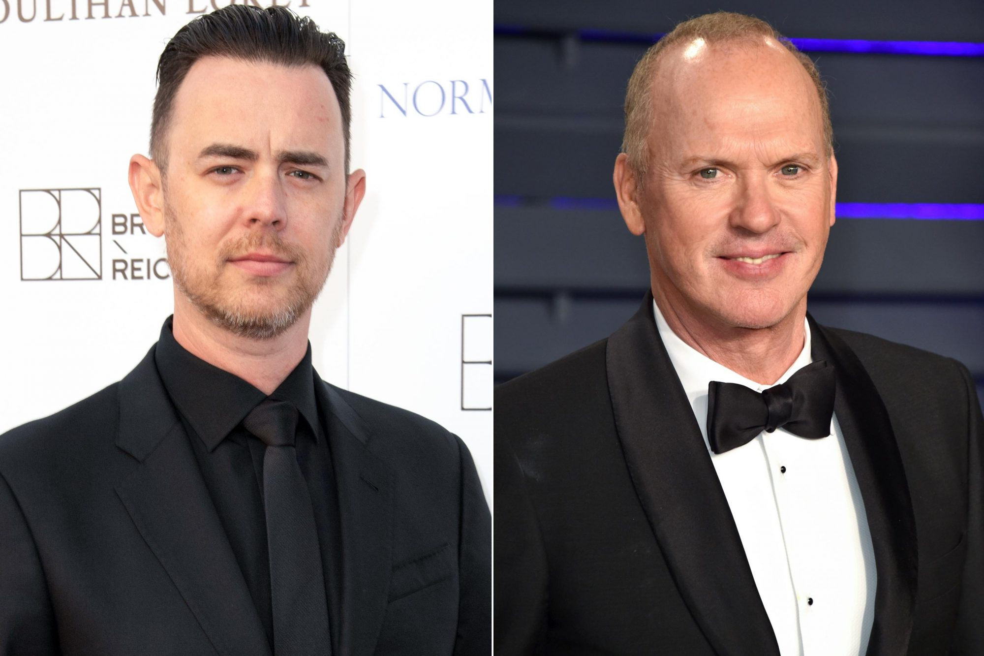 HOLLYWOOD, CA - MAY 19: Actor Colin Hanks attends Uplift Family Services At Hollygrove's 7th Annual Norma Jean Gala at Hollygrove Campus on May 19, 2018 in Hollywood, California. (Photo by Earl Gibson III/WireImage) BEVERLY HILLS, CA - FEBRUARY 24: Michael Keaton attends the 2019 Vanity Fair Oscar Party hosted by Radhika Jones at Wallis Annenberg Center for the Performing Arts on February 24, 2019 in Beverly Hills, California. (Photo by John Shearer/Getty Images)