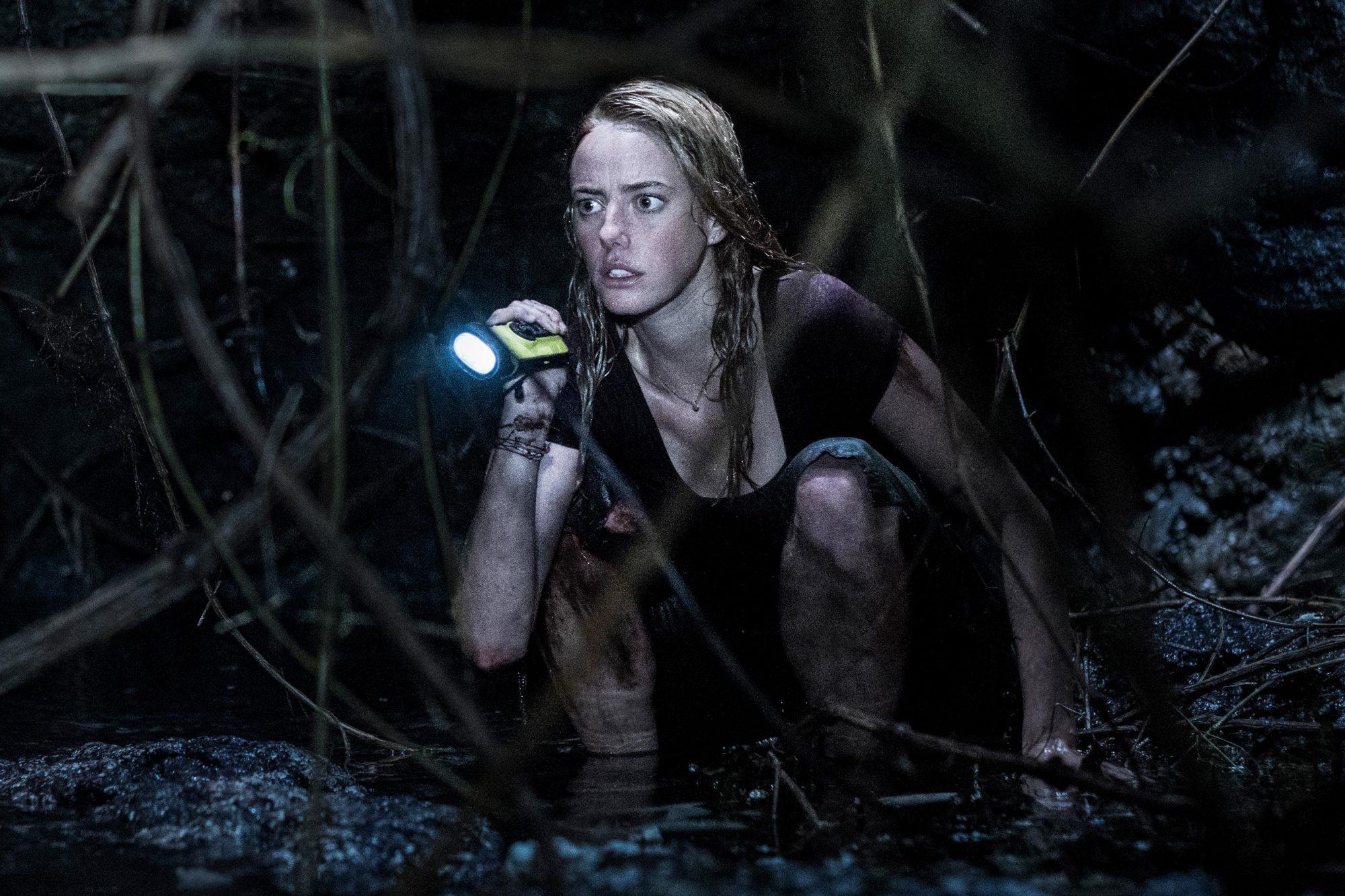 Kaya Scodelario in CRAWL from Paramount Pictures. Photo Credit: Sergej Radović.