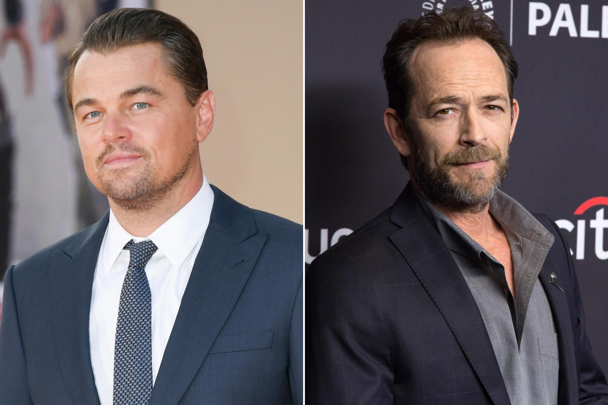 Leonardo DiCaprio; Luke Perry
