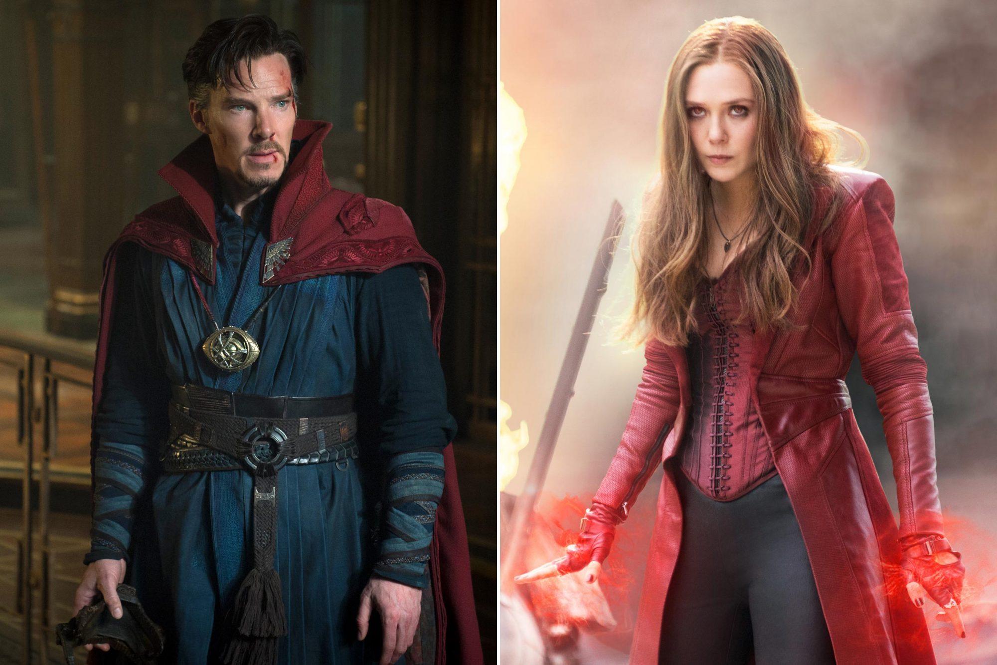 Doctor Strange ; Scarlet Witch