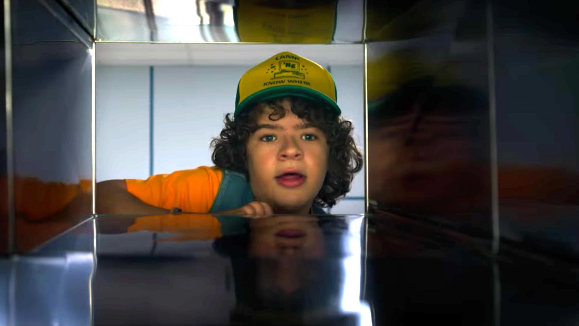 Stranger Things 3 (screen grab) Season 3, Episode 4 Gaten Matarazzo as Dustin CR: Netflix