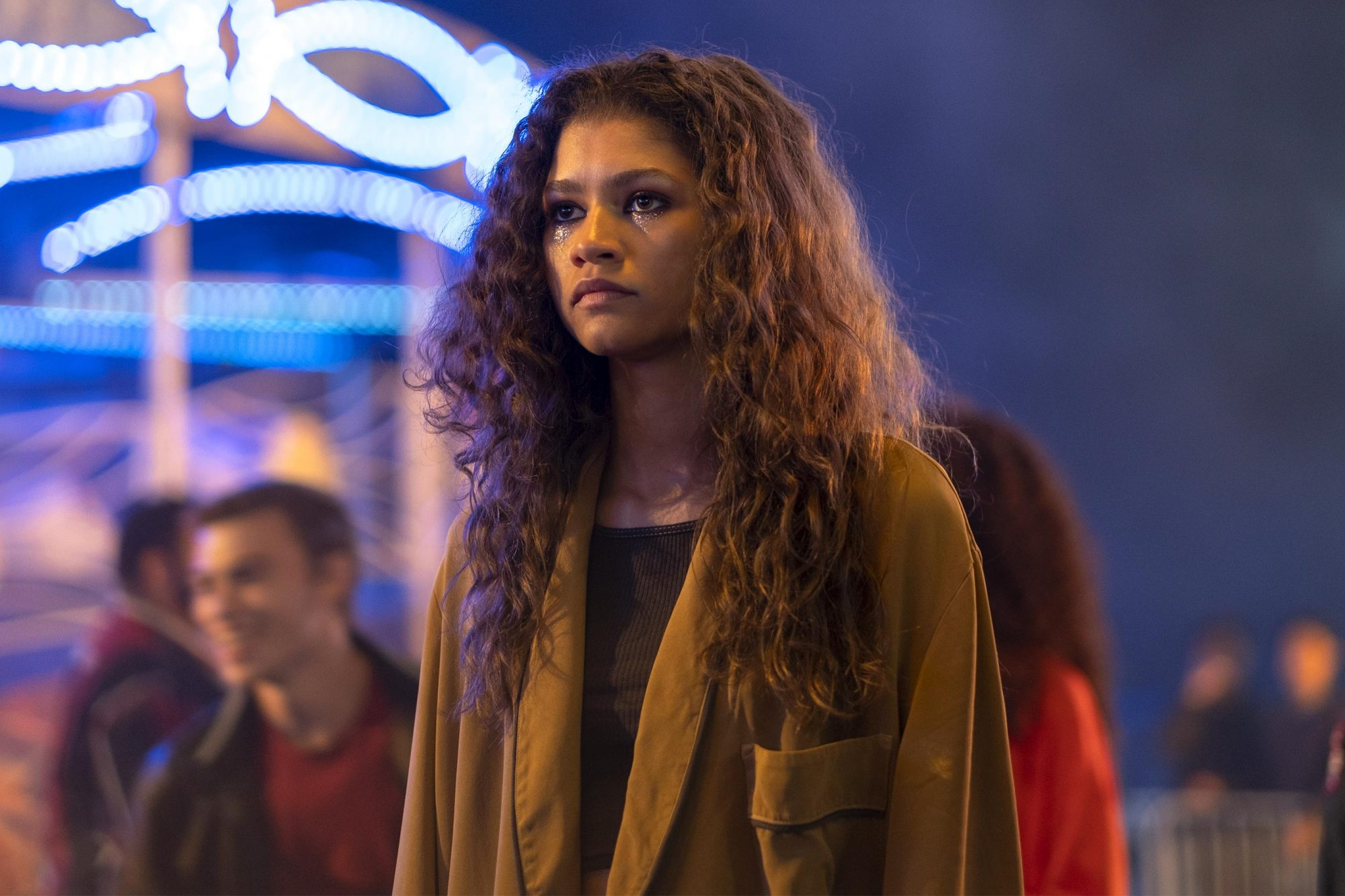 Euphoria Season 1, episode 4 (debut 7/7/19): Zendaya. photo: Eddy Chen/HBO