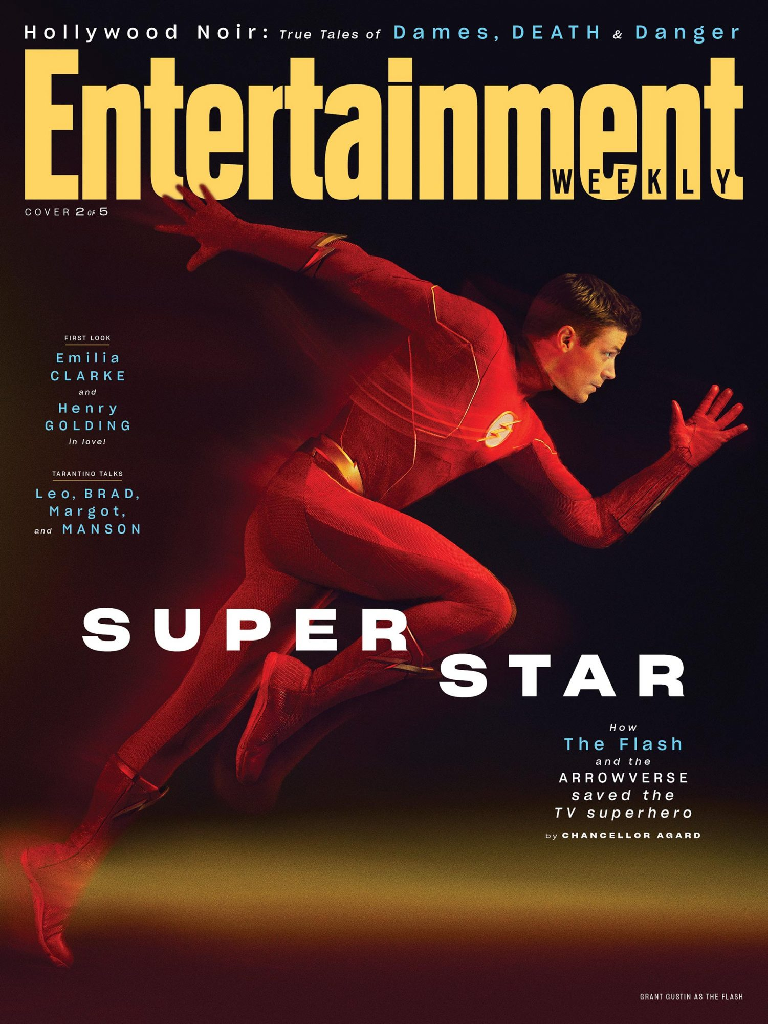 EW August 2019 Cover - Grant Gustin as The Flash