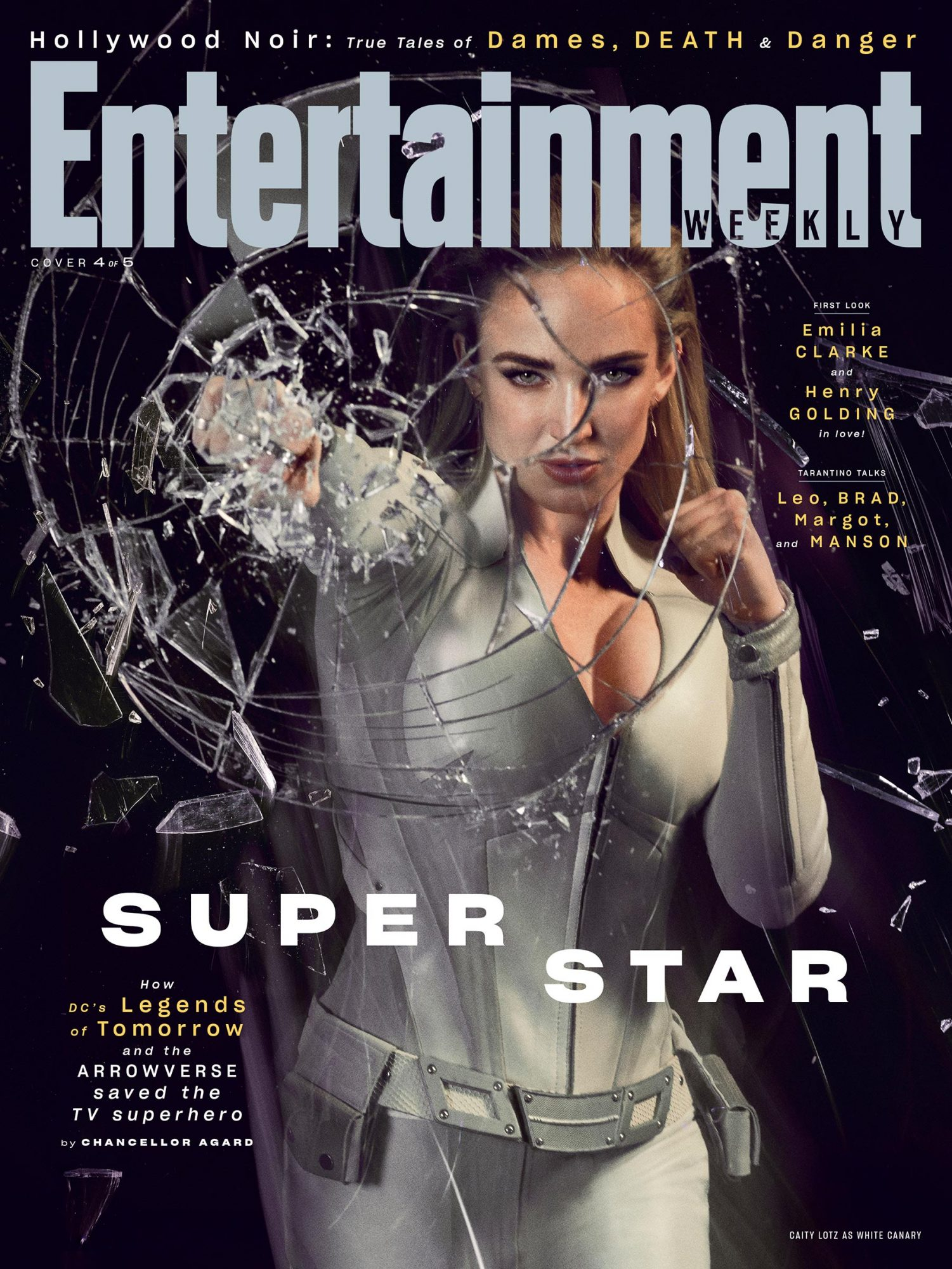 EW August 2019 Cover - Caity Lotz as White Canary