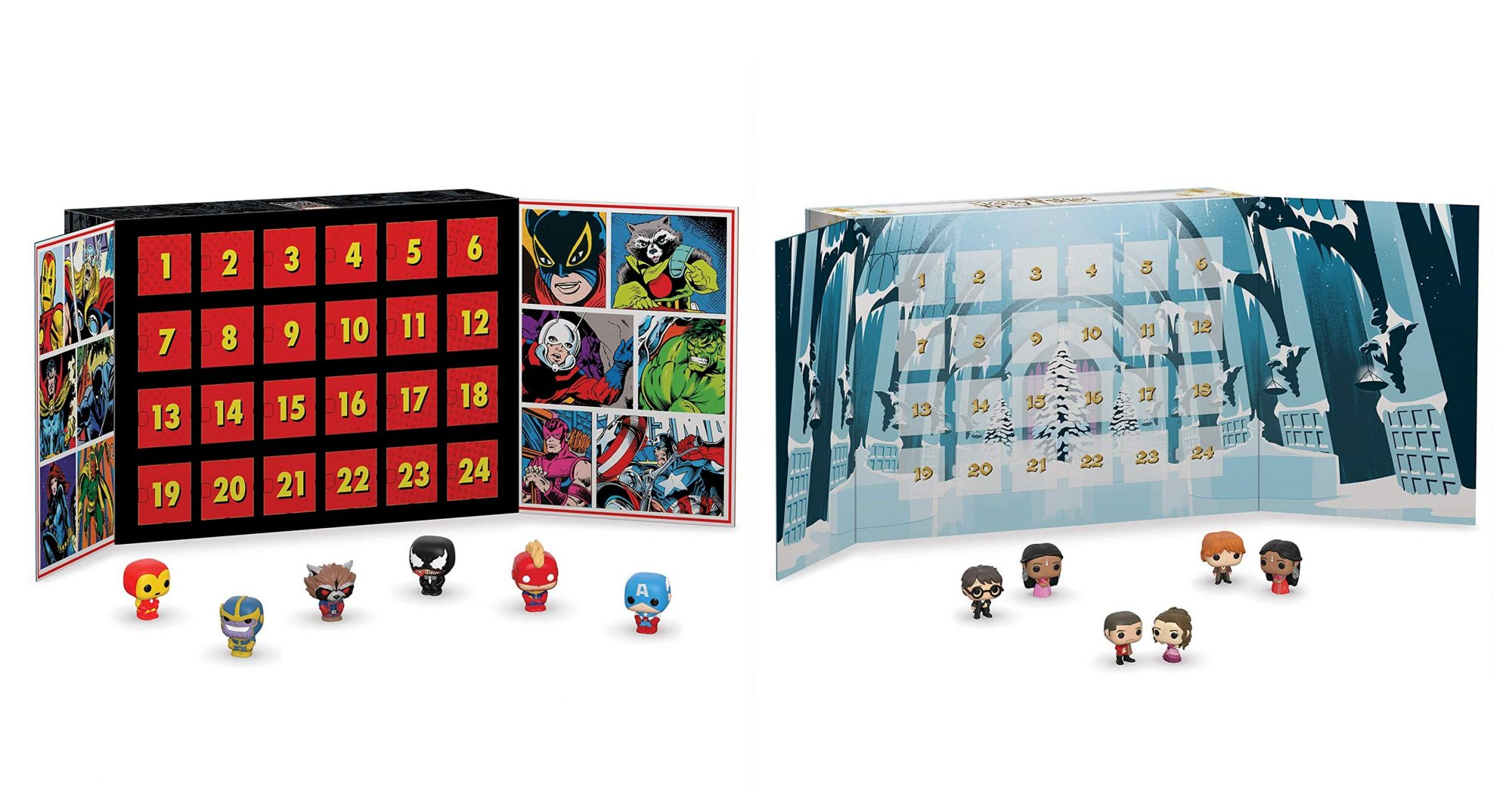 Funko Advent Calendar: Marvel 80th Anniversary, 24pc Funko Advent Calendar: Harry Potter 2019, 24pc by FunKo