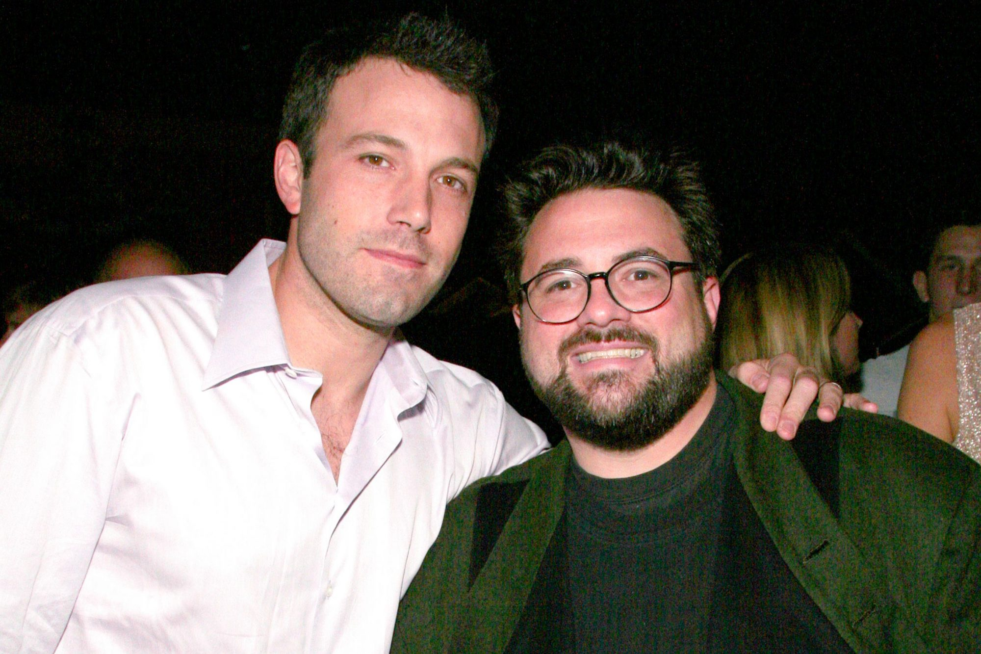 Ben Affleck and Kevin Smith (Photo by Paul Redmond/WireImage)
