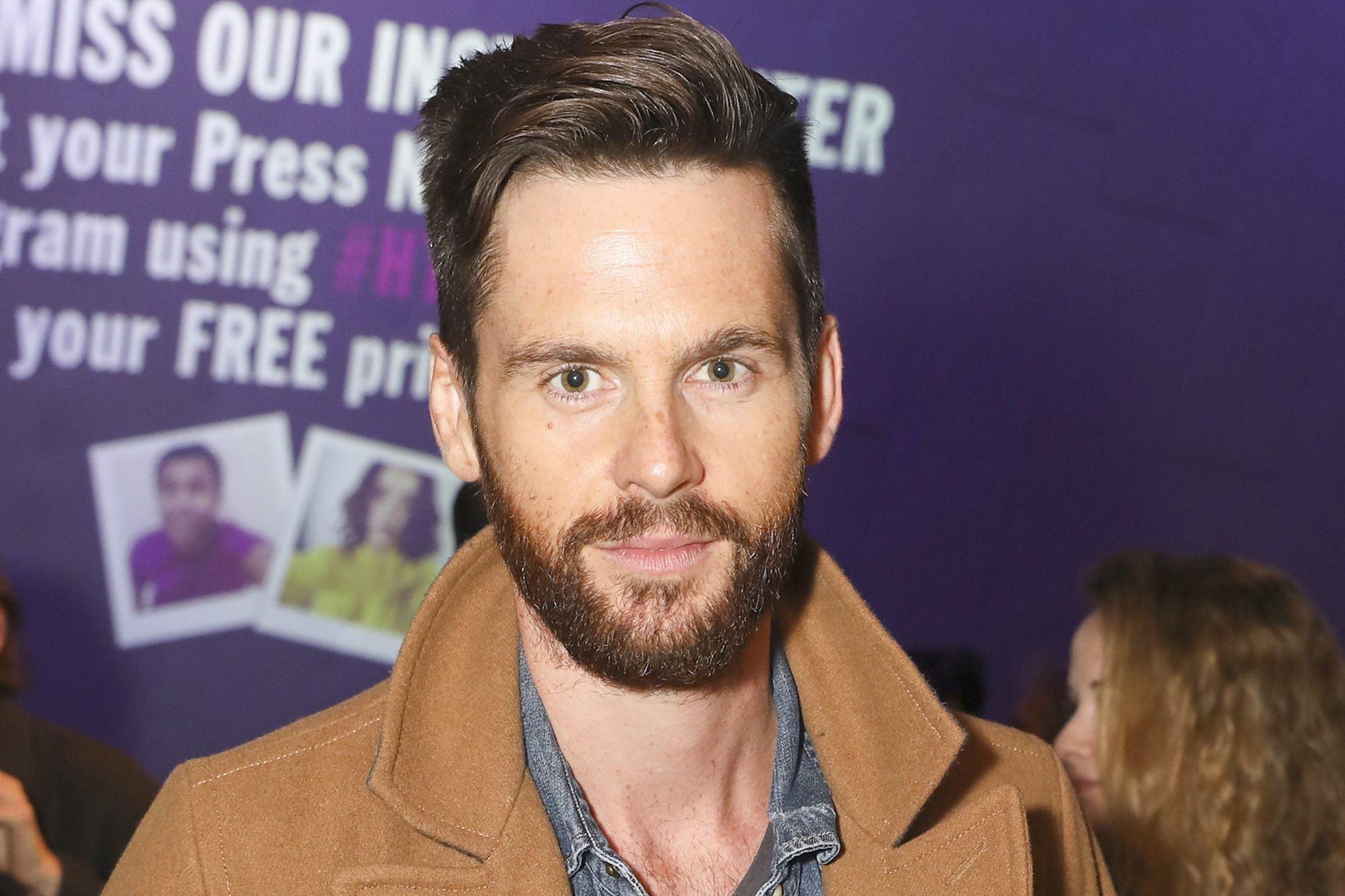 LONDON, ENGLAND - OCTOBER 25: Tom Riley attends the press night of 'I and You' at Hampstead Theatre at Hampstead Heath on October 25, 2018 in London, England. (Photo by David M. Benett/Dave Benett/Getty Images for Coach)
