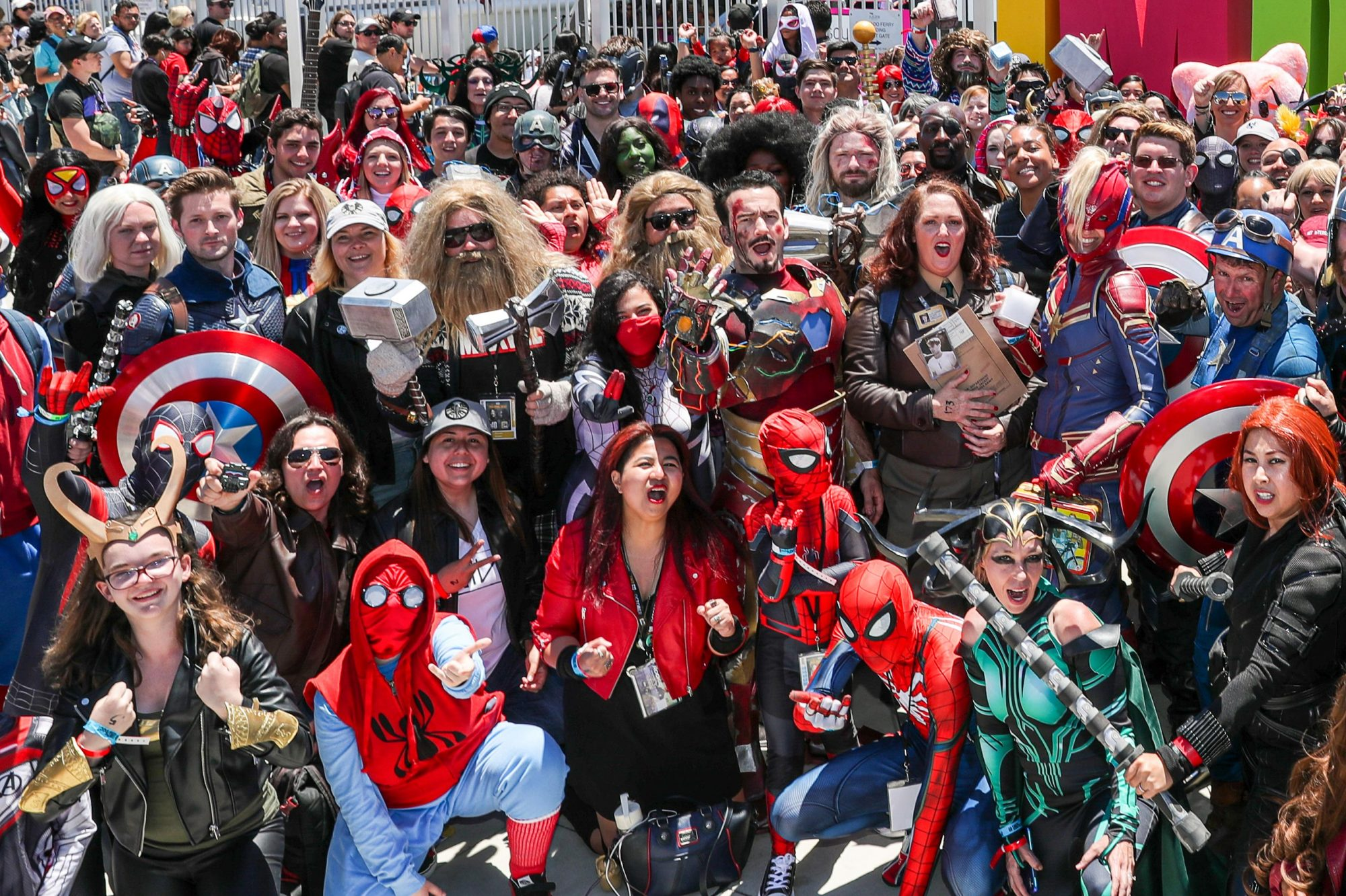 Avengers: Endgame Cosplay And Fan Meet-Up At #IMDboat