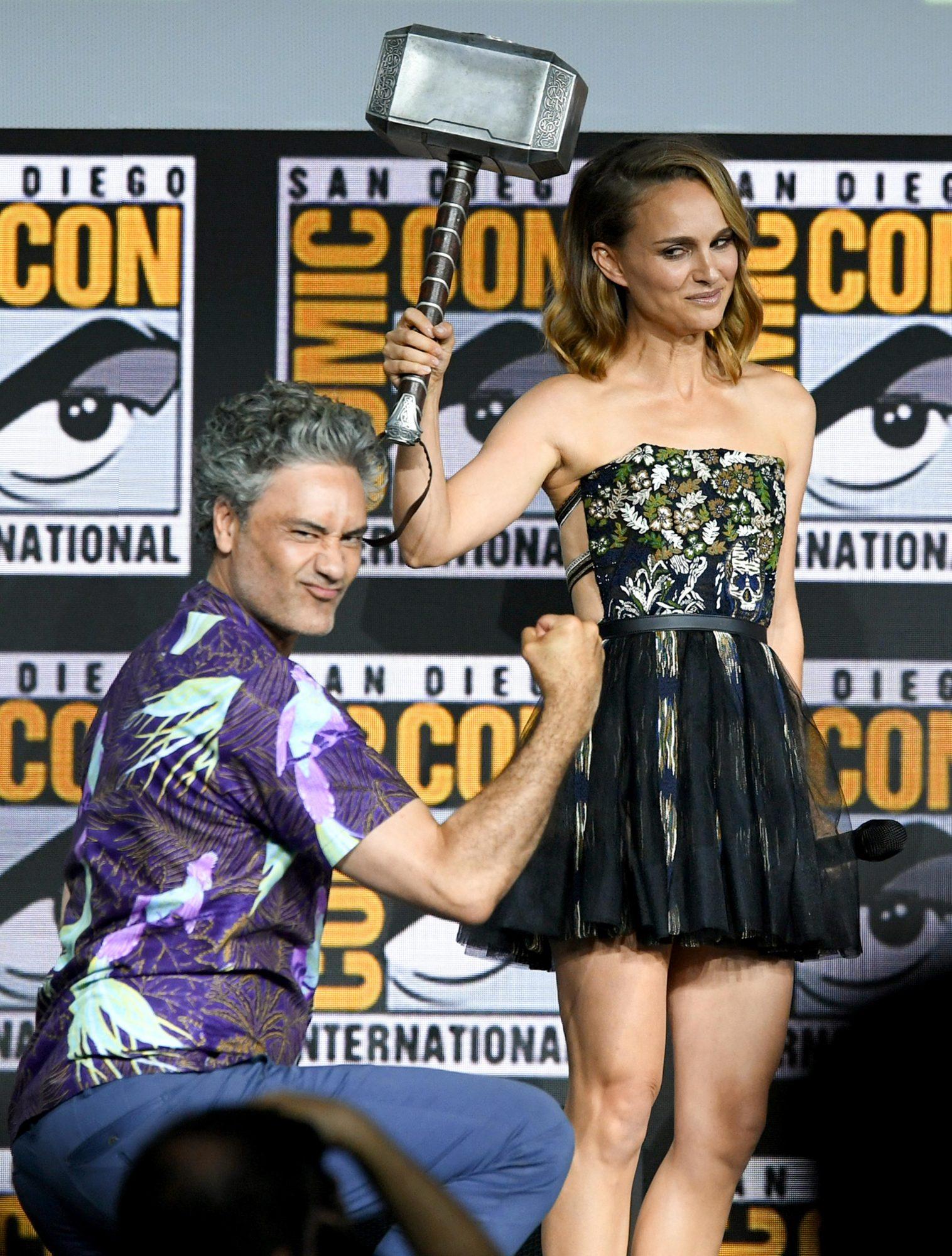 Taika Waititi and Natalie Portman