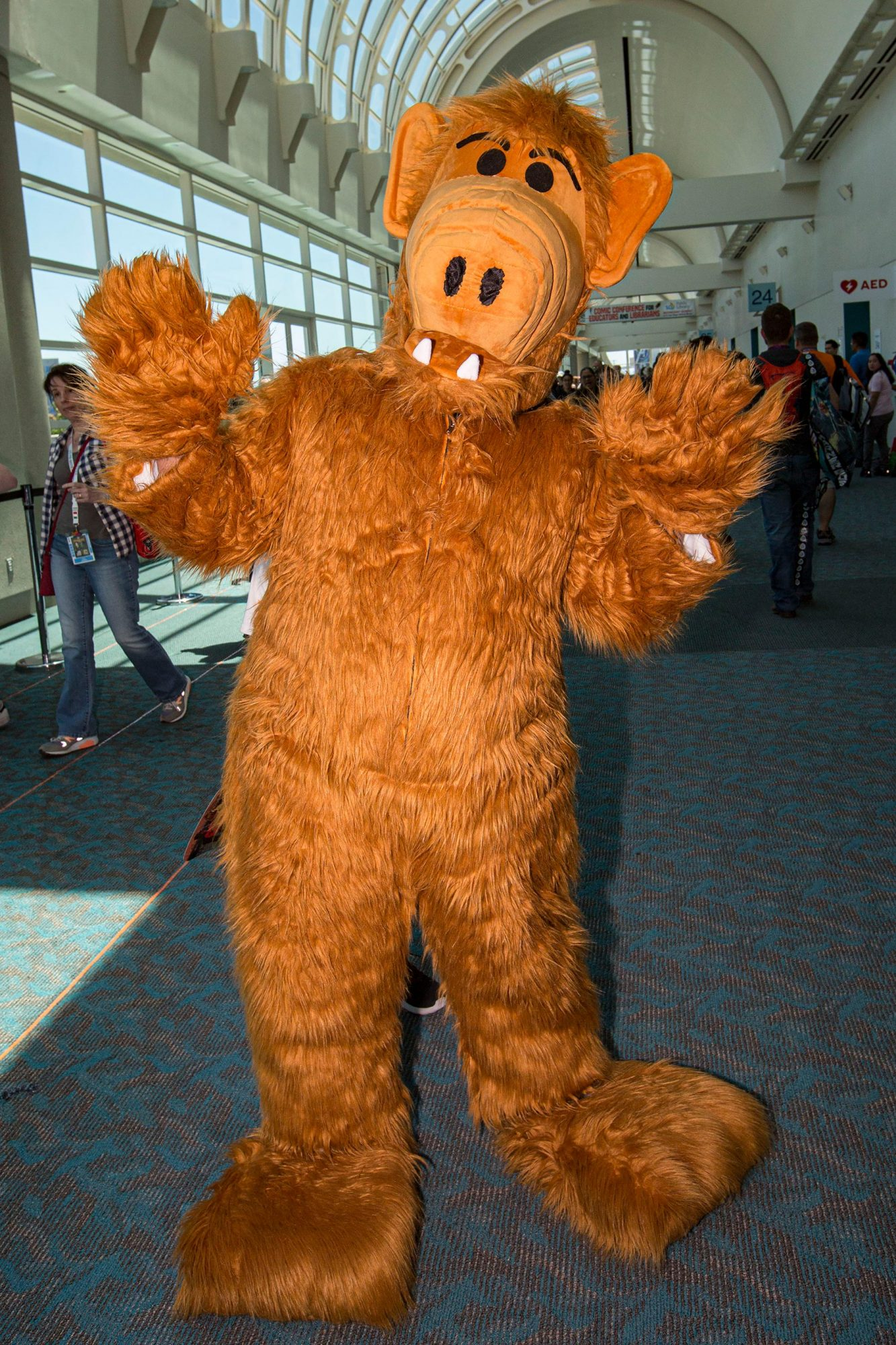2019 Comic-Con International - General Atmosphere And Cosplay