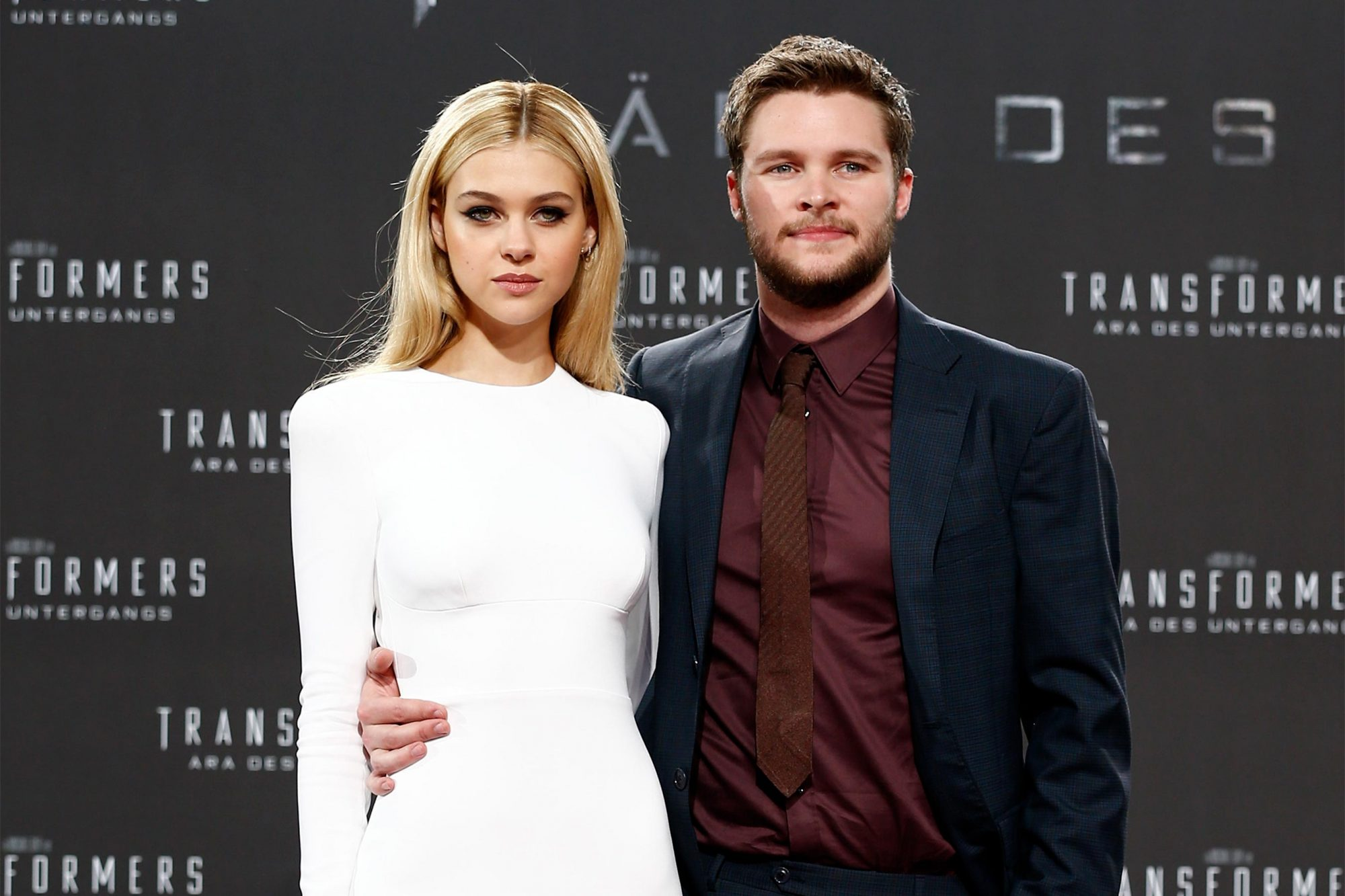 BERLIN, GERMANY - JUNE 29: Nicola Peltz and Jack Reynor attend the european premiere of 'Transformers: Age of Extinction' (german title: 'Transformers - Aera des Untergangs') at Sony Centre on June 29, 2014 in Berlin, Germany. (Photo by Andreas Rentz/Getty Images for Paramount Pictures)