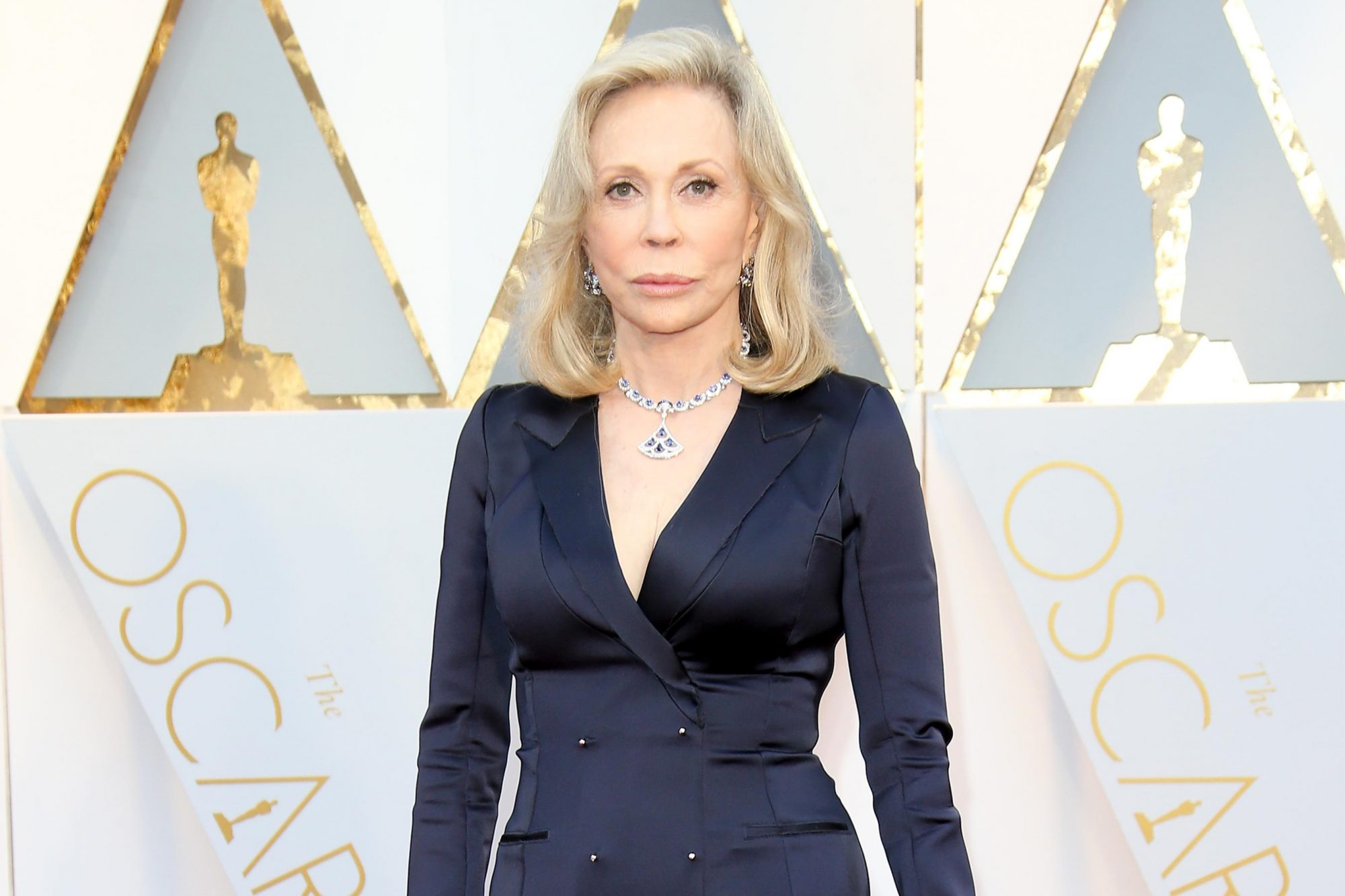 HOLLYWOOD, CA - FEBRUARY 26: Actress Faye Dunaway arrives at the 89th Annual Academy Awards at Hollywood & Highland Center on February 26, 2017 in Hollywood, California. (Photo by Dan MacMedan/Getty Images)