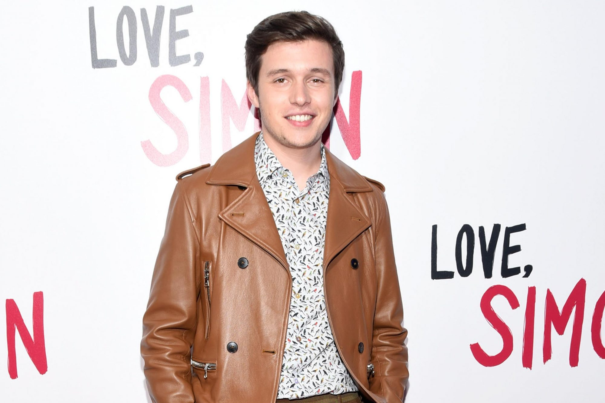 "LOS ANGELES, CA - MARCH 13: Actor Nick Robinson attends a special screening of 20th Century Fox's ""Love, Simon"" at Westfield Century City on March 13, 2018 in Los Angeles, California. (Photo by Michael Tullberg/Getty Images)"