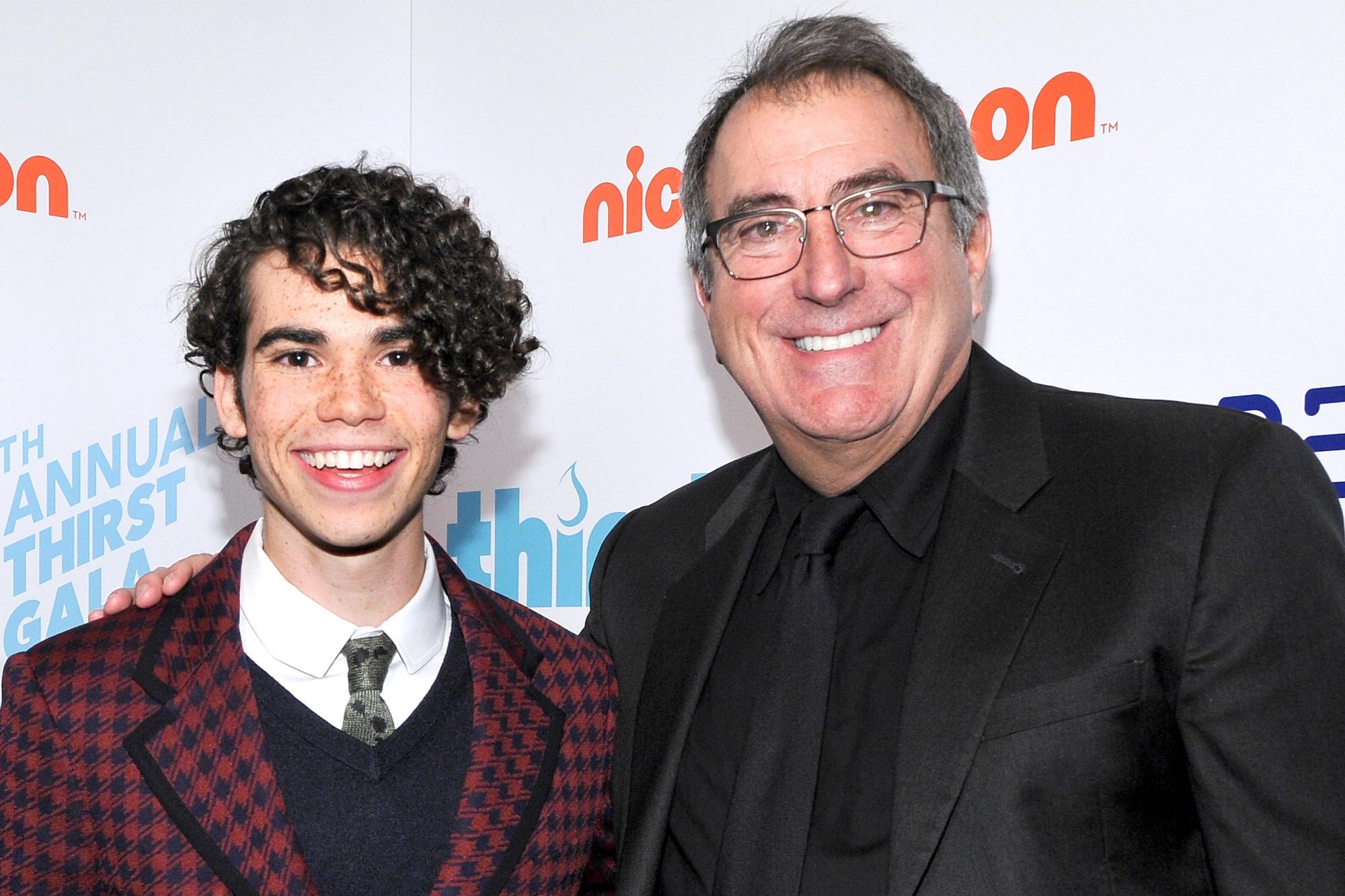 BEVERLY HILLS, CA - APRIL 21: (L-R) Cameron Boyce and Kenny Ortega attend The Thirst Project's 9th Annual Thirst Gala at The Beverly Hills Hotel on April 21, 2018 in Beverly Hills, California. (Photo by John Sciulli/Getty Images for Thirst Project)