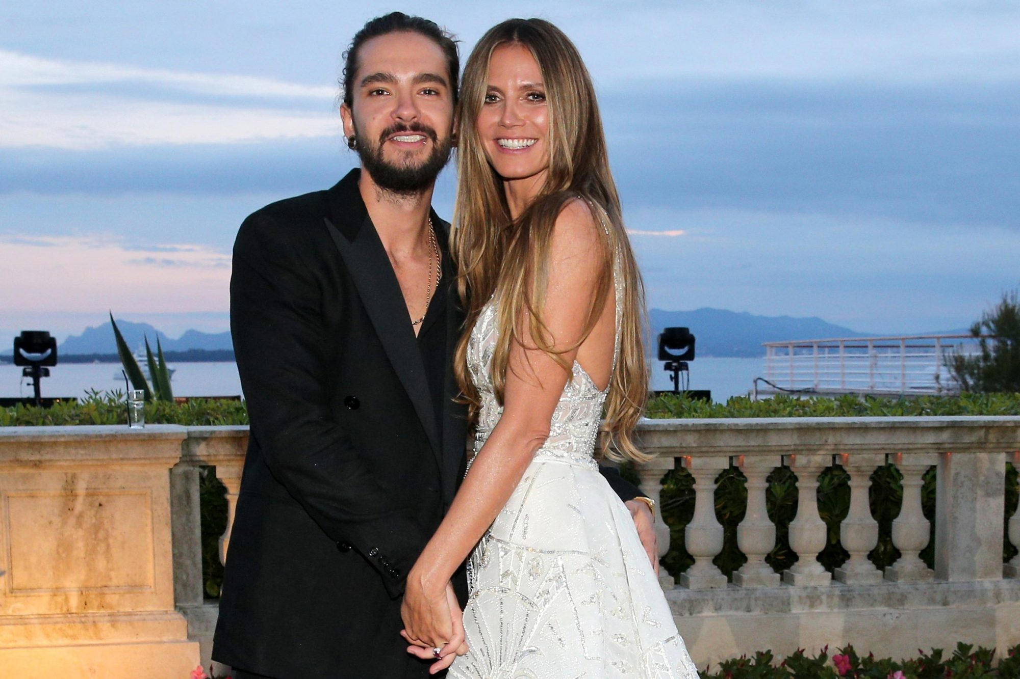 Tom Kaulitz and Heidi Klum