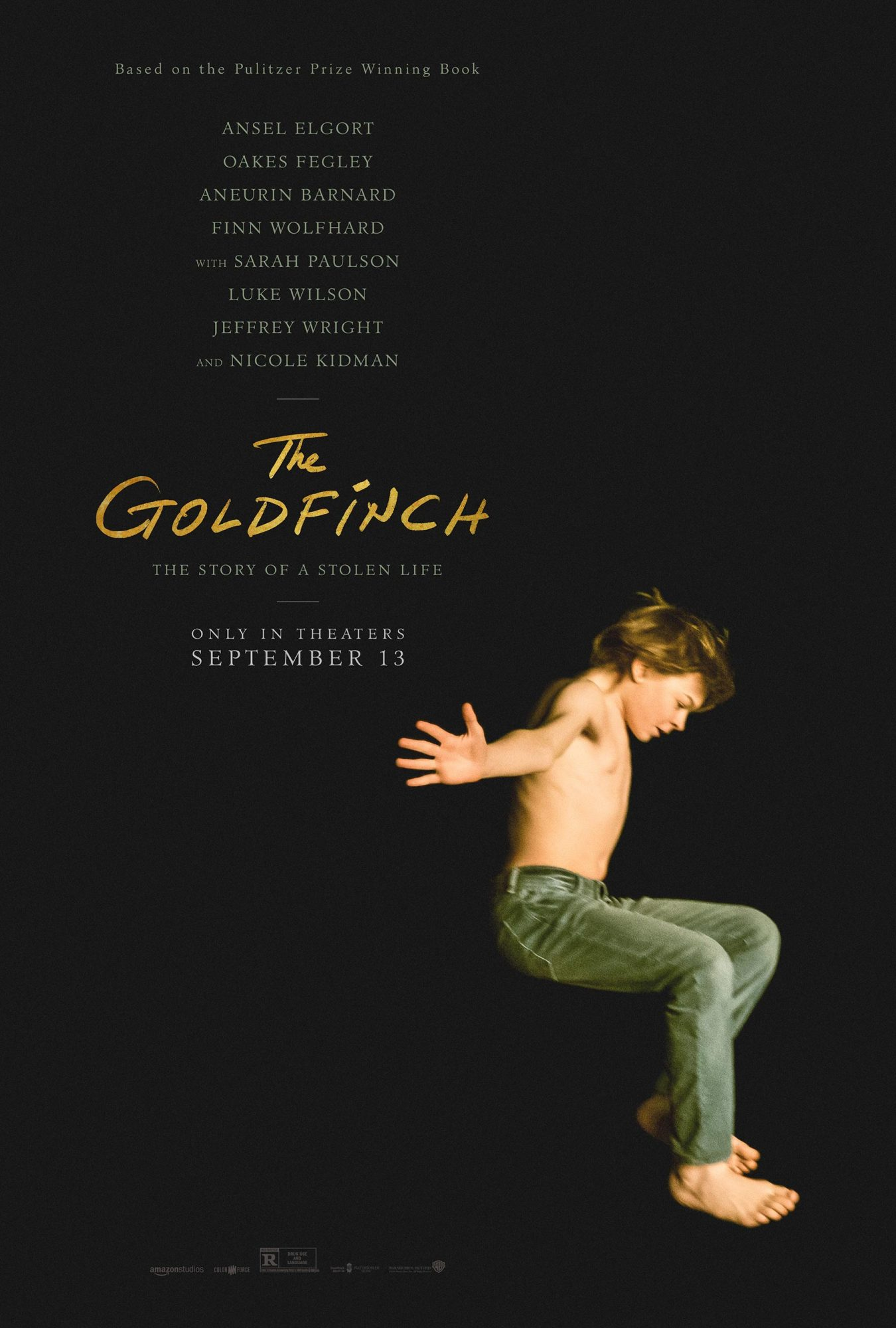 The Goldfinch movie poster CR: Warner Bros. Pictures