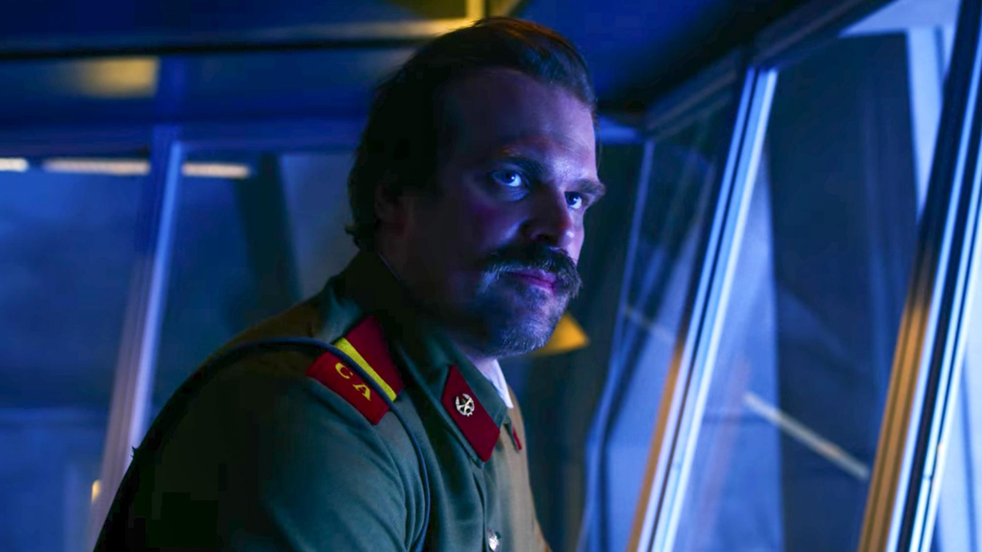 Stranger Things 3 Season 3, Episode 8 David Harbour as Jim Hopper CR: Netflix
