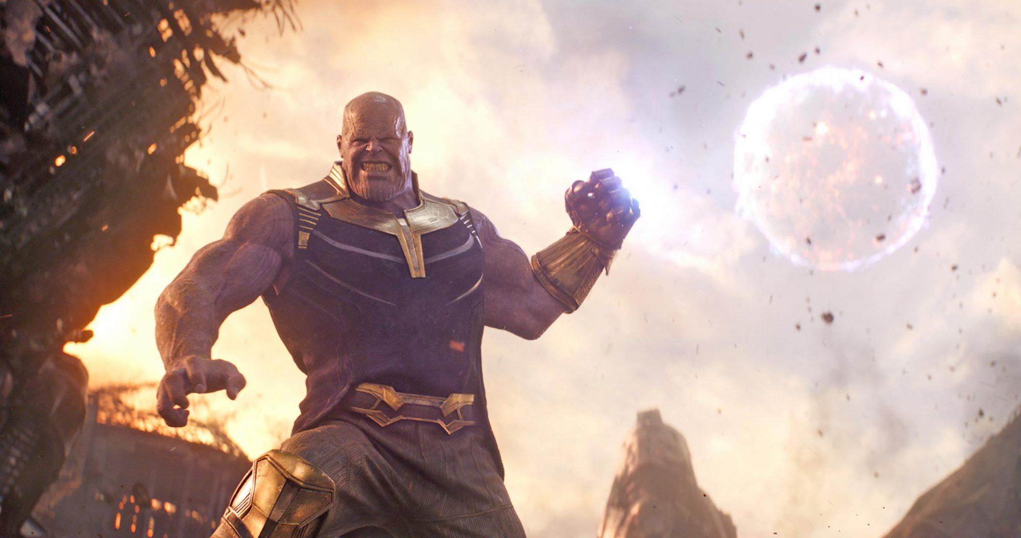 12. Avengers: Infinity War (2018)
