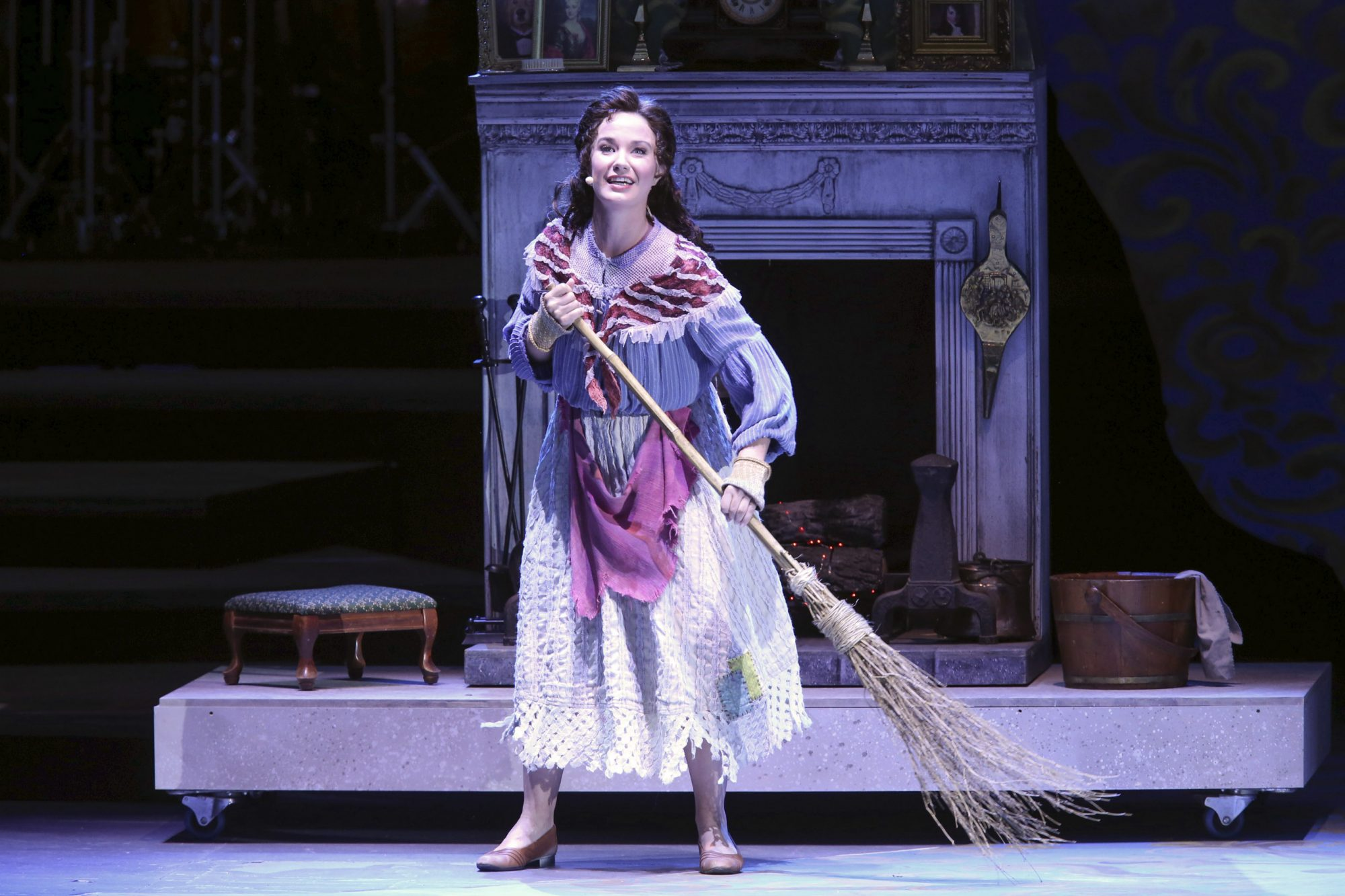 Hollywood Bowl Presents Into The Woods 2019 -- Pictured: Sierra Boggess as Cinderella Photos by Craig T. Mathew and Greg Grudt/Mathew Imaging If these photos will be used on Social Media, please be sure to tag the following: @mathewimaging