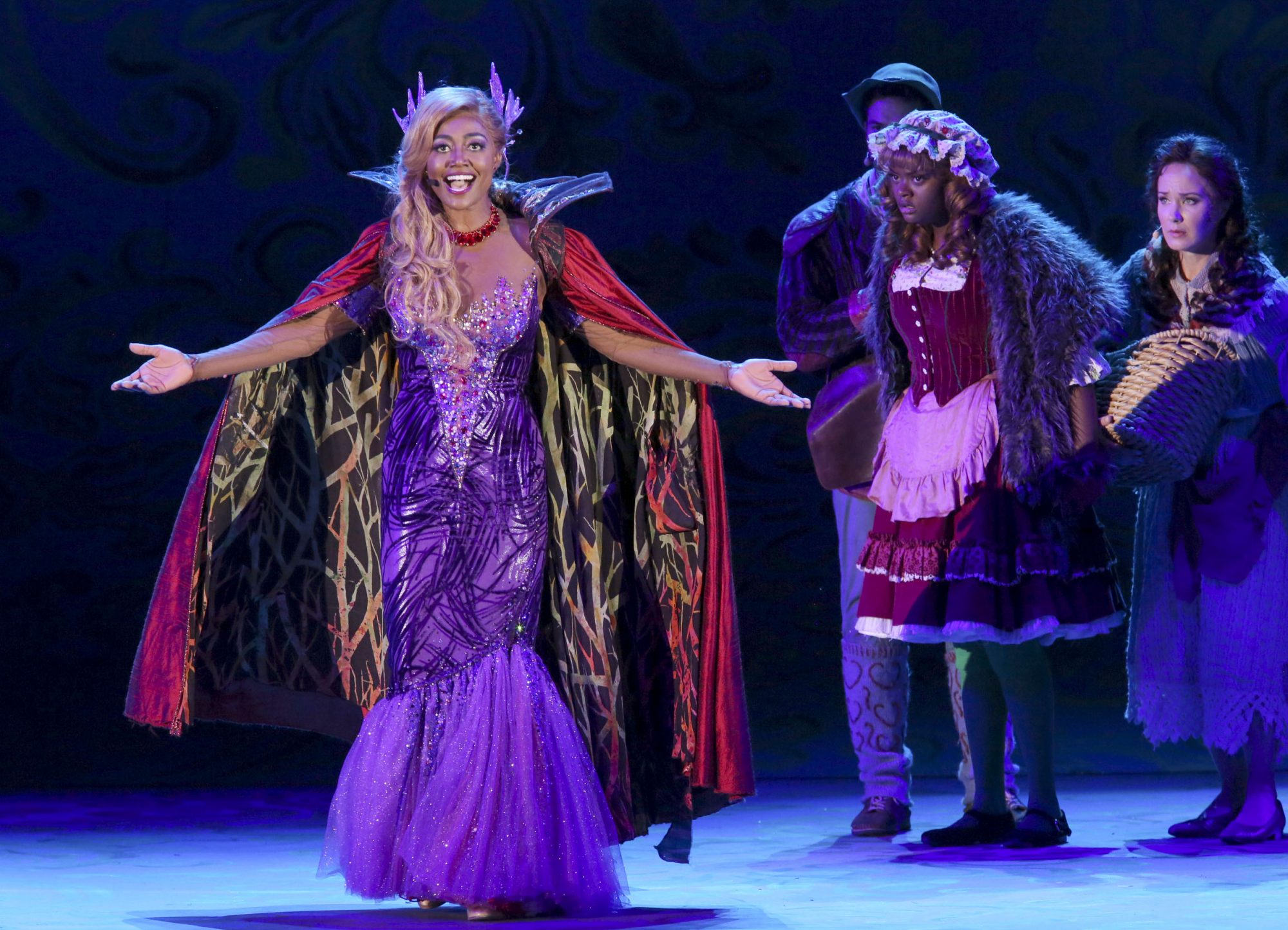 Hollywood Bowl Presents Into The Woods 2019 -- Pictured: Patina Miller as The Witch Photos by Craig T. Mathew and Greg Grudt/Mathew Imaging If these photos will be used on Social Media, please be sure to tag the following: @mathewimaging