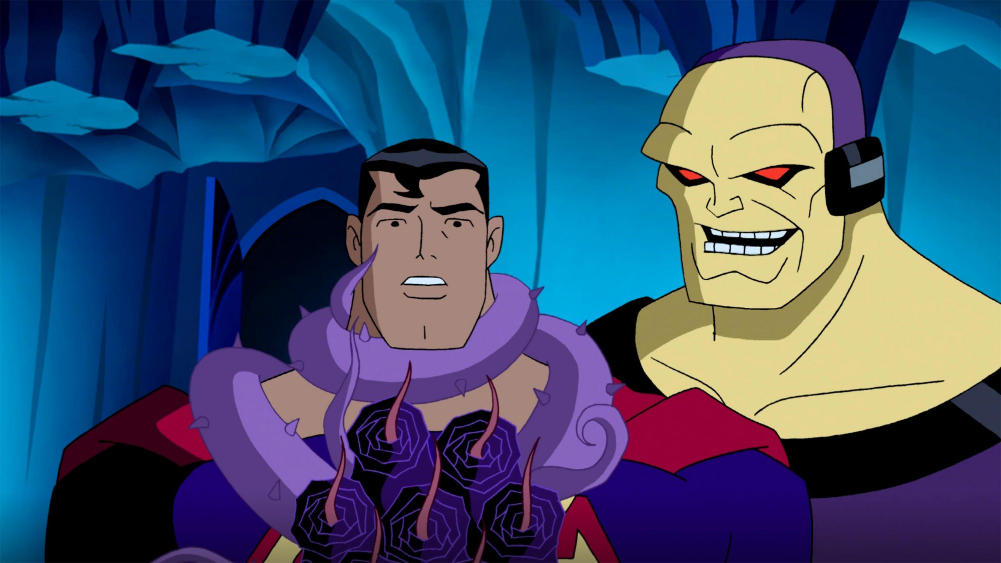 """Justice League Unlimited """"For the Man Who Has Everything"""" CR: DC"""