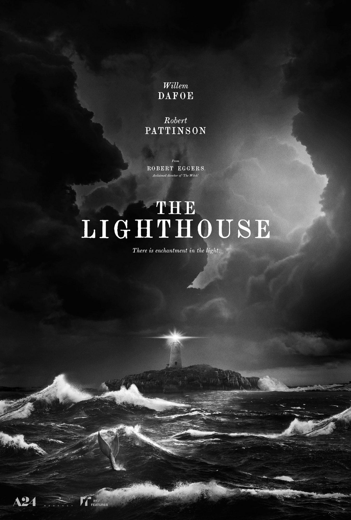 Willem Dafoe, Robert Pattinson The Lighthouse A24