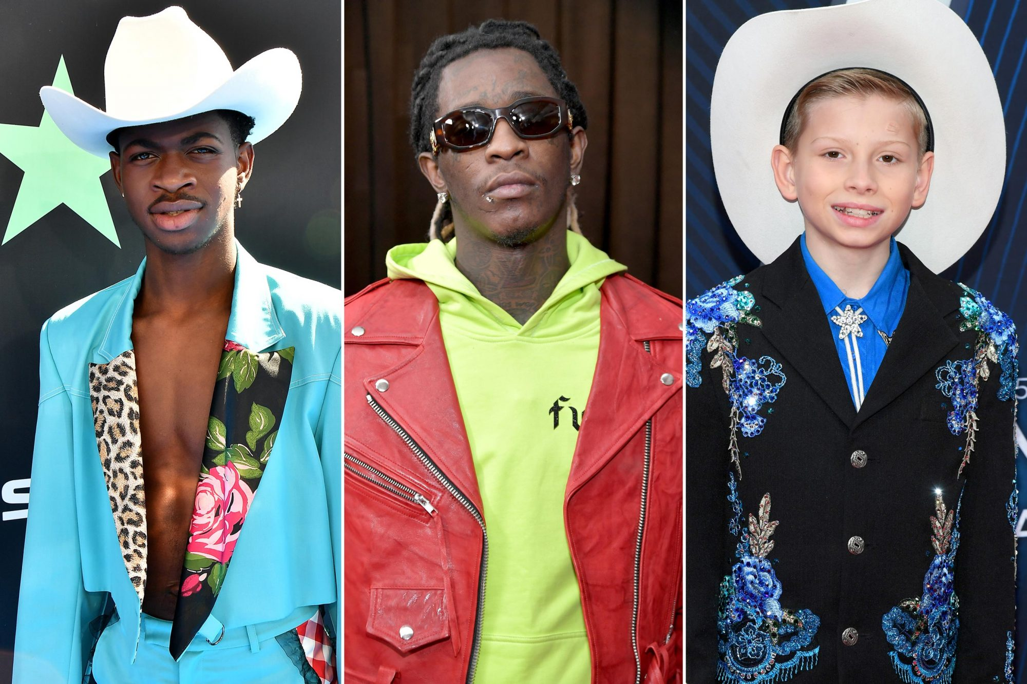 Lil Nas X; Young Thug; Mason Ramsey