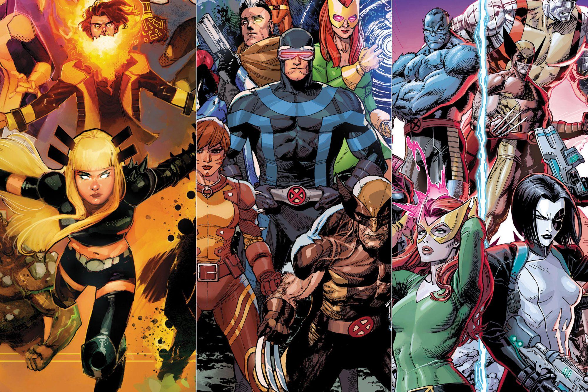 New Mutants, X Men, X Force