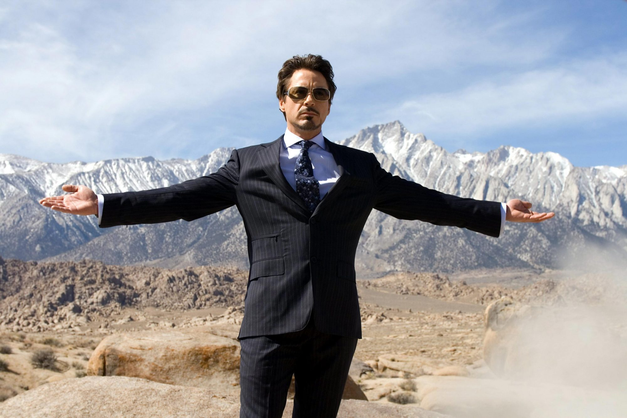 IRON MAN, Robert Downey Jr., 2008. ©Paramount/Courtesy Everett Collection