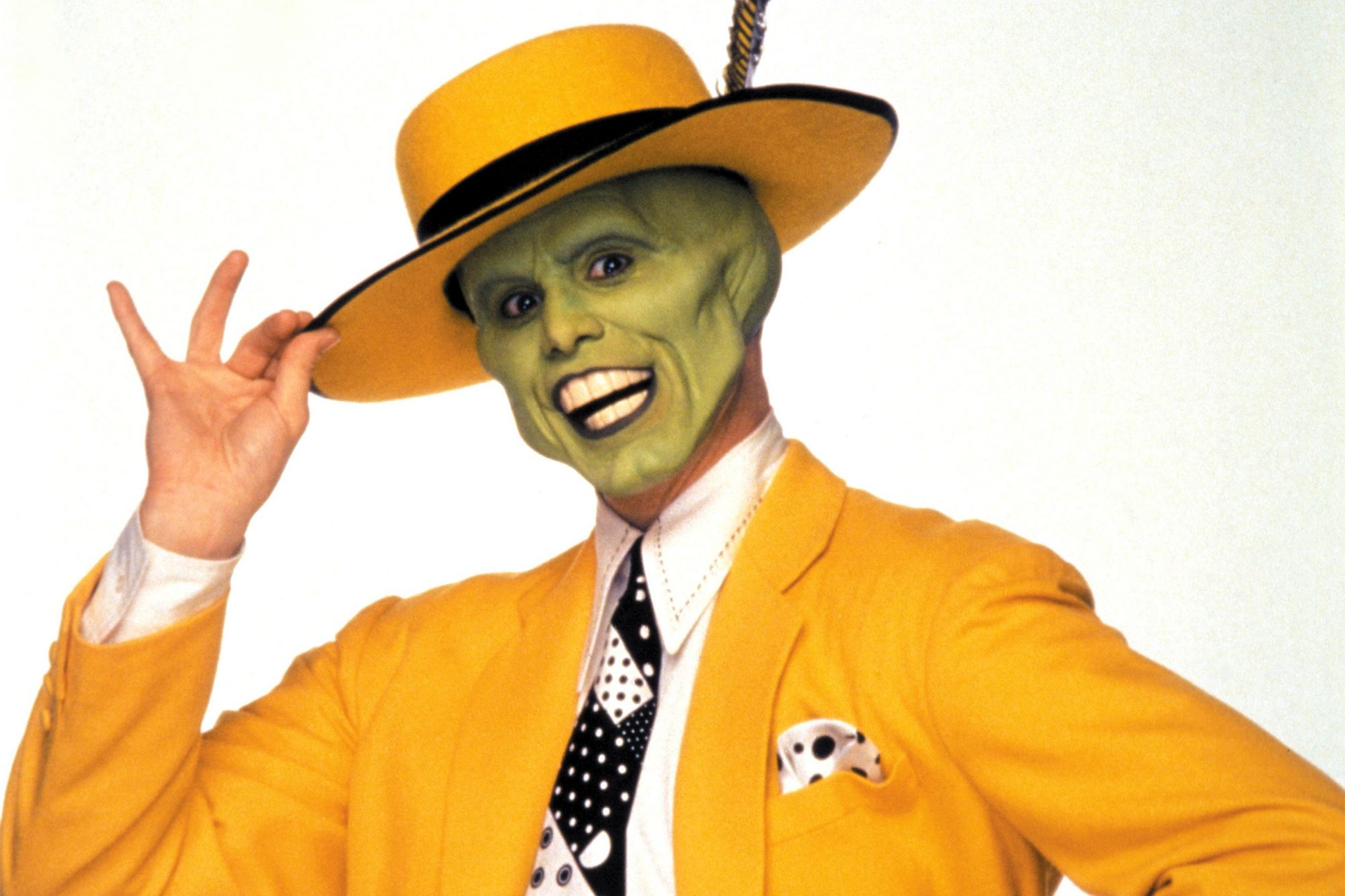 THE MASK, Jim Carrey, 1994. (c) New Line Cinema/ Courtesy: Everett Collection.