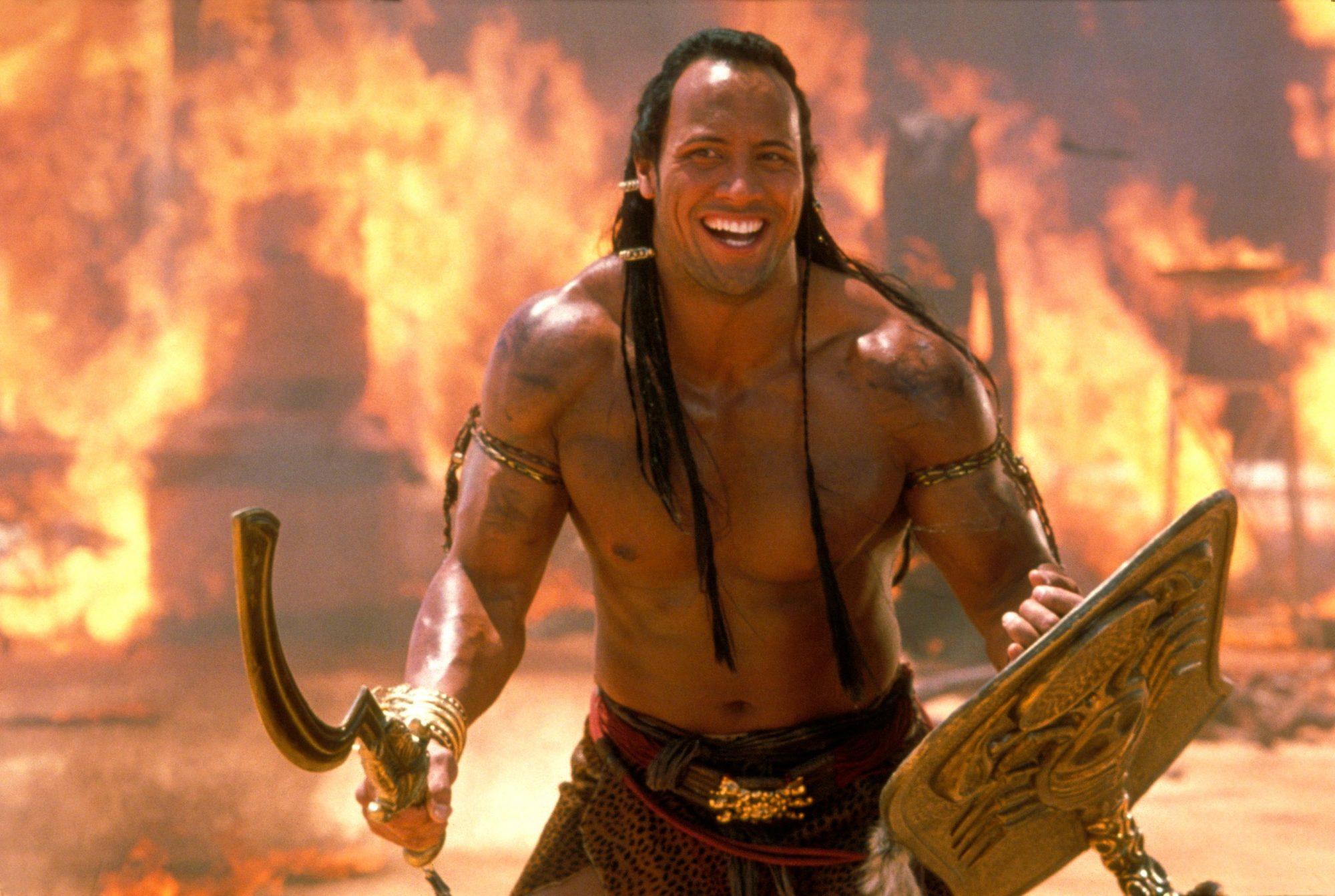 Dwayne Johnson was seriously ill when he shot The Mummy Returns | EW.com