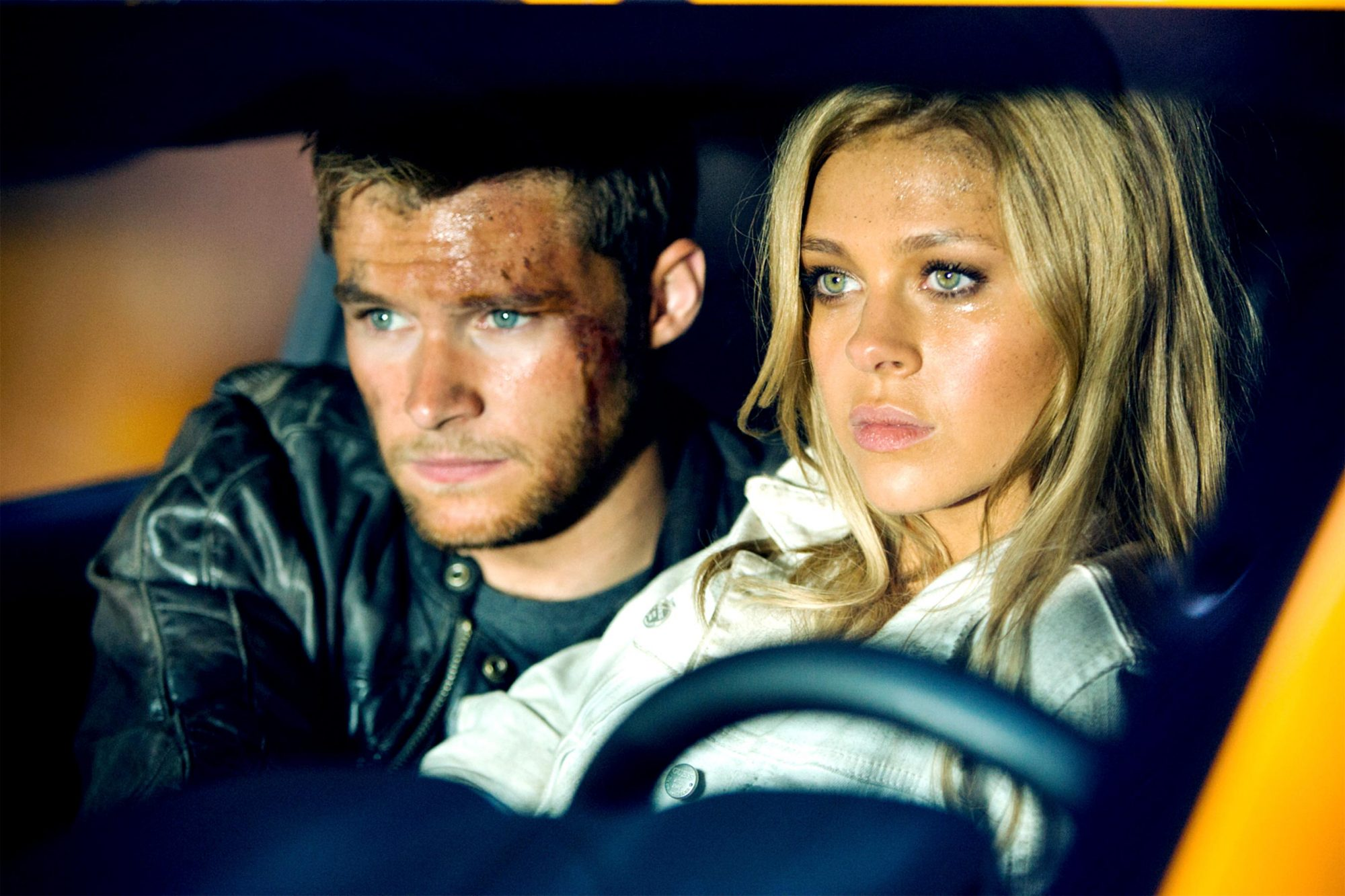 TRANSFORMERS: AGE OF EXTINCTION, from left: Jack Reynor, Nicola Peltz, 2014. ph: Andrew Cooper/©Paramount Pictures/Courtesy Everett Collection