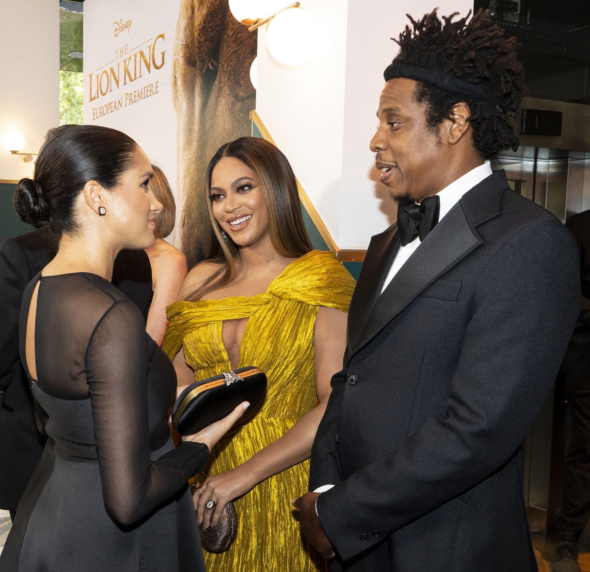 Harry, Meghan, Beyonce, Jay-Z