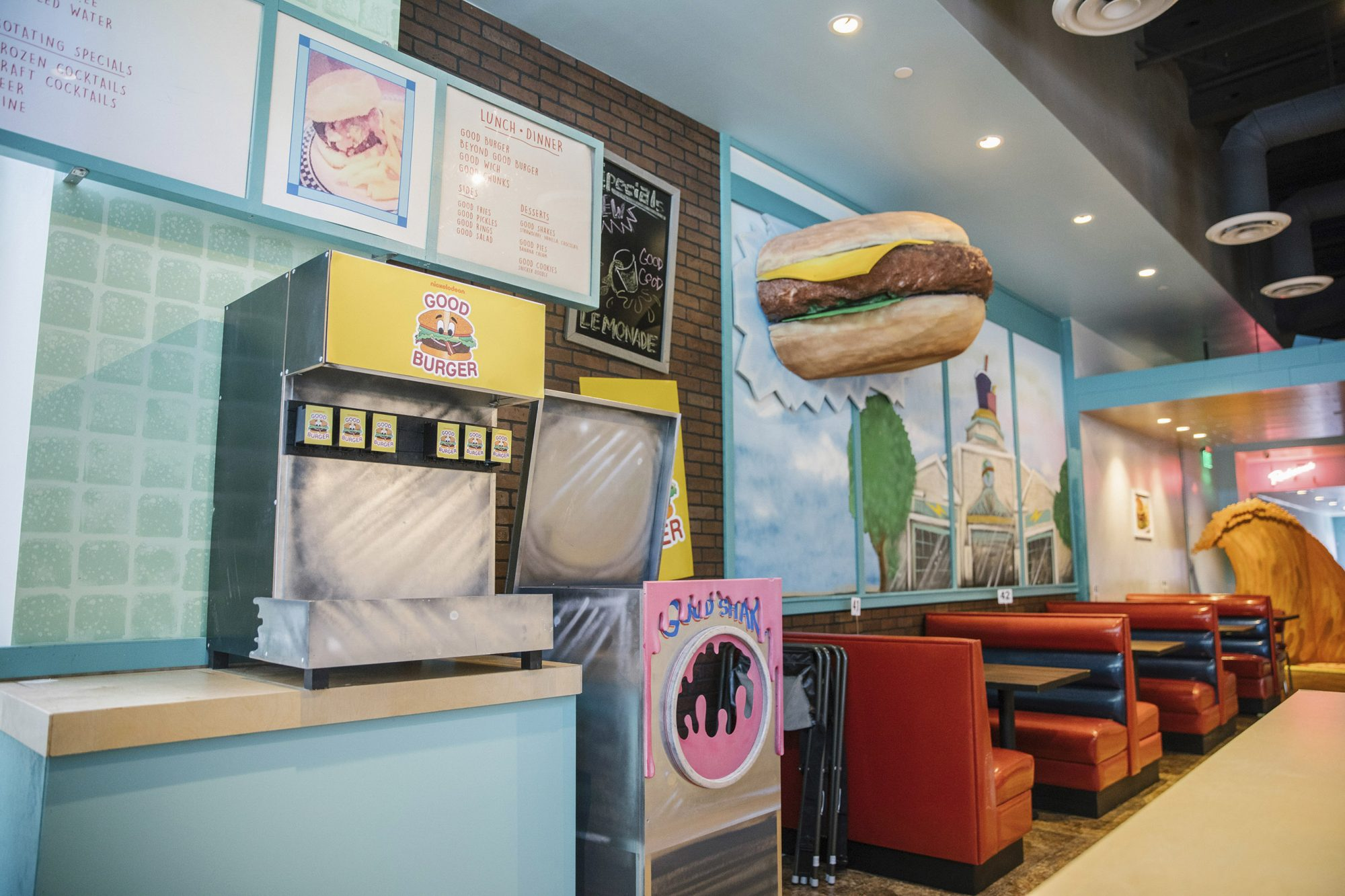 All That BTS Good Burger opening CR: Nathaniel Wood