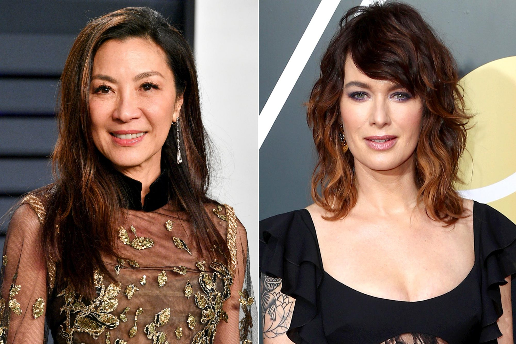 BEVERLY HILLS, CA - FEBRUARY 24: Michelle Yeoh attends the 2019 Vanity Fair Oscar Party hosted by Radhika Jones at Wallis Annenberg Center for the Performing Arts on February 24, 2019 in Beverly Hills, California. (Photo by Dia Dipasupil/Getty Images) BEVERLY HILLS, CA - JANUARY 07: Actor Lena Headey attends The 75th Annual Golden Globe Awards at The Beverly Hilton Hotel on January 7, 2018 in Beverly Hills, California. (Photo by Frederick M. Brown/Getty Images)