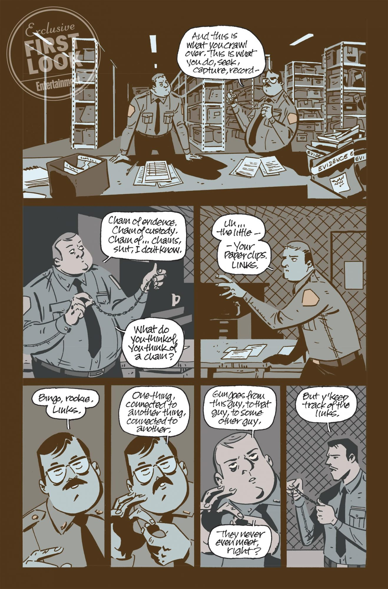 NOVEMBER, BOOK ONE (OF THREE) HC CR: Image Comics