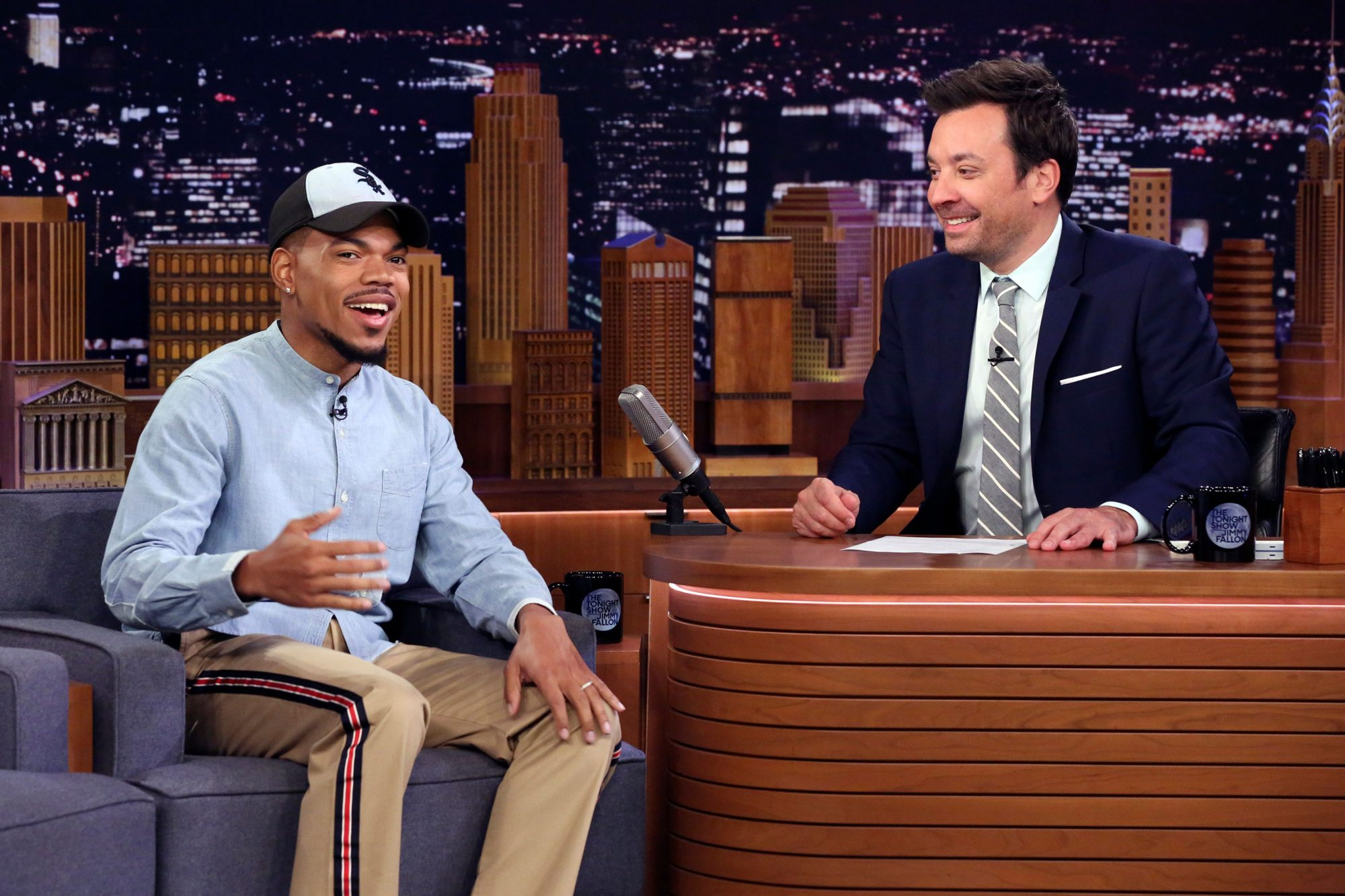 THE TONIGHT SHOW STARRING JIMMY FALLON Chance The Rapper