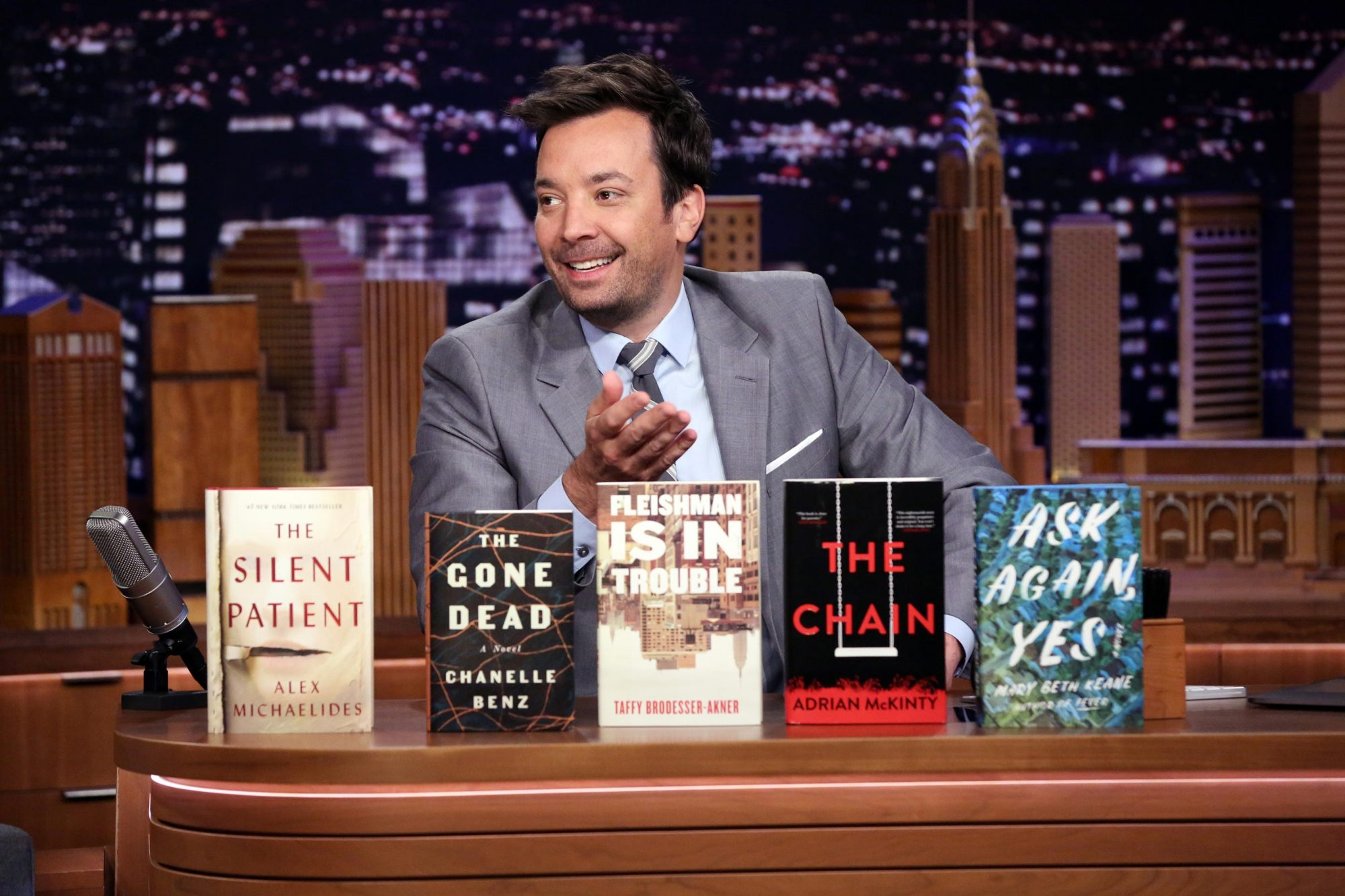 THE TONIGHT SHOW STARRING JIMMY FALLON Jimmy Fallon book club