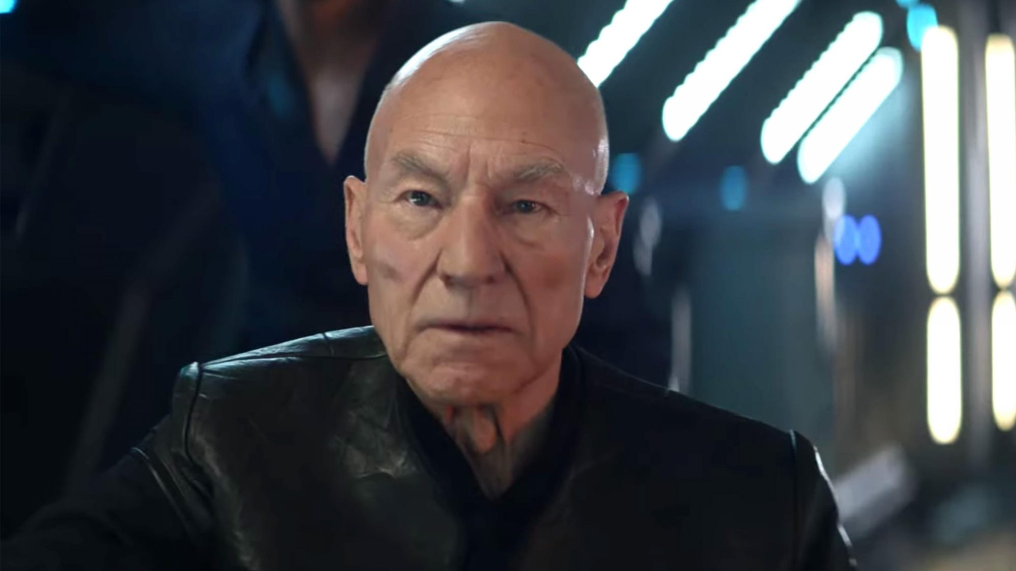Star Trek: Picard | SDCC Trailer - Sir Patrick Stewart Returns (screen grab) Patrick Stewart https://www.youtube.com/watch?v=KbXy0f0aCN0 CR: CBS