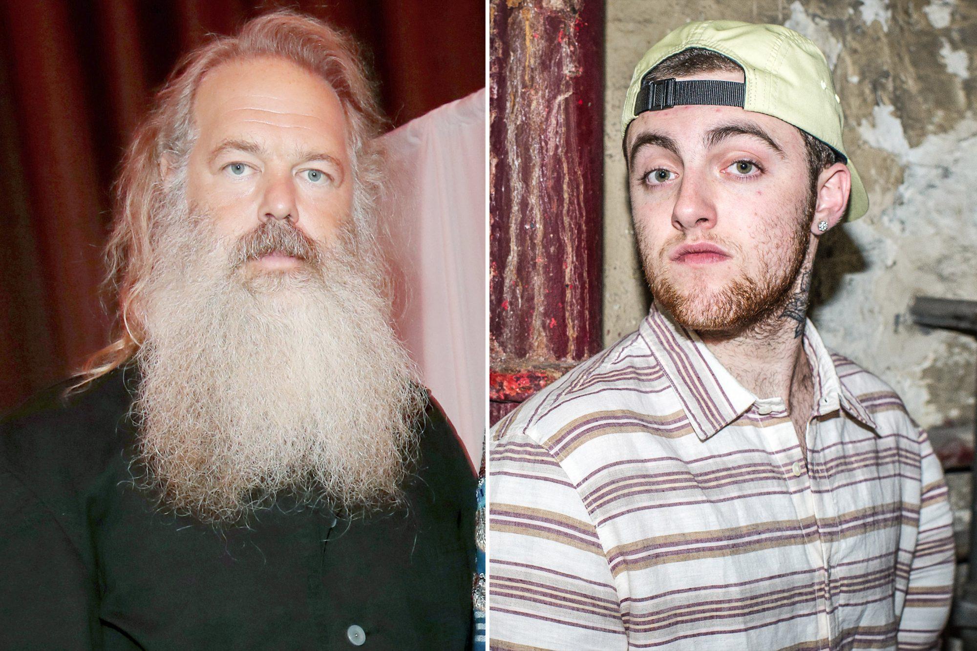 Mac Miller and Rick Rubin
