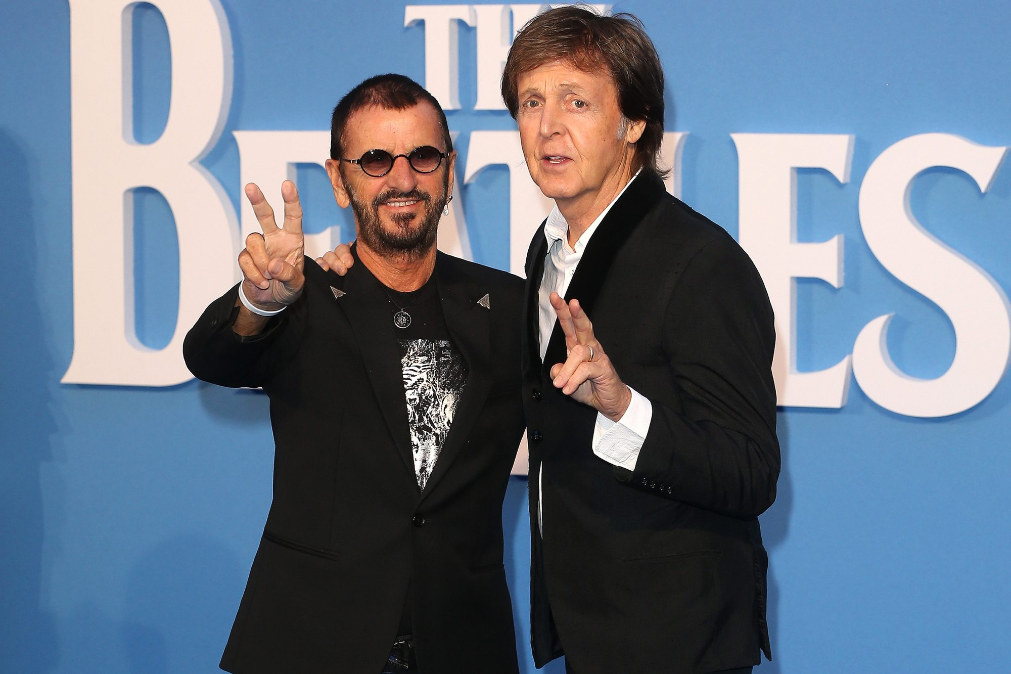 5. Paul McCartney with a little help from Ringo