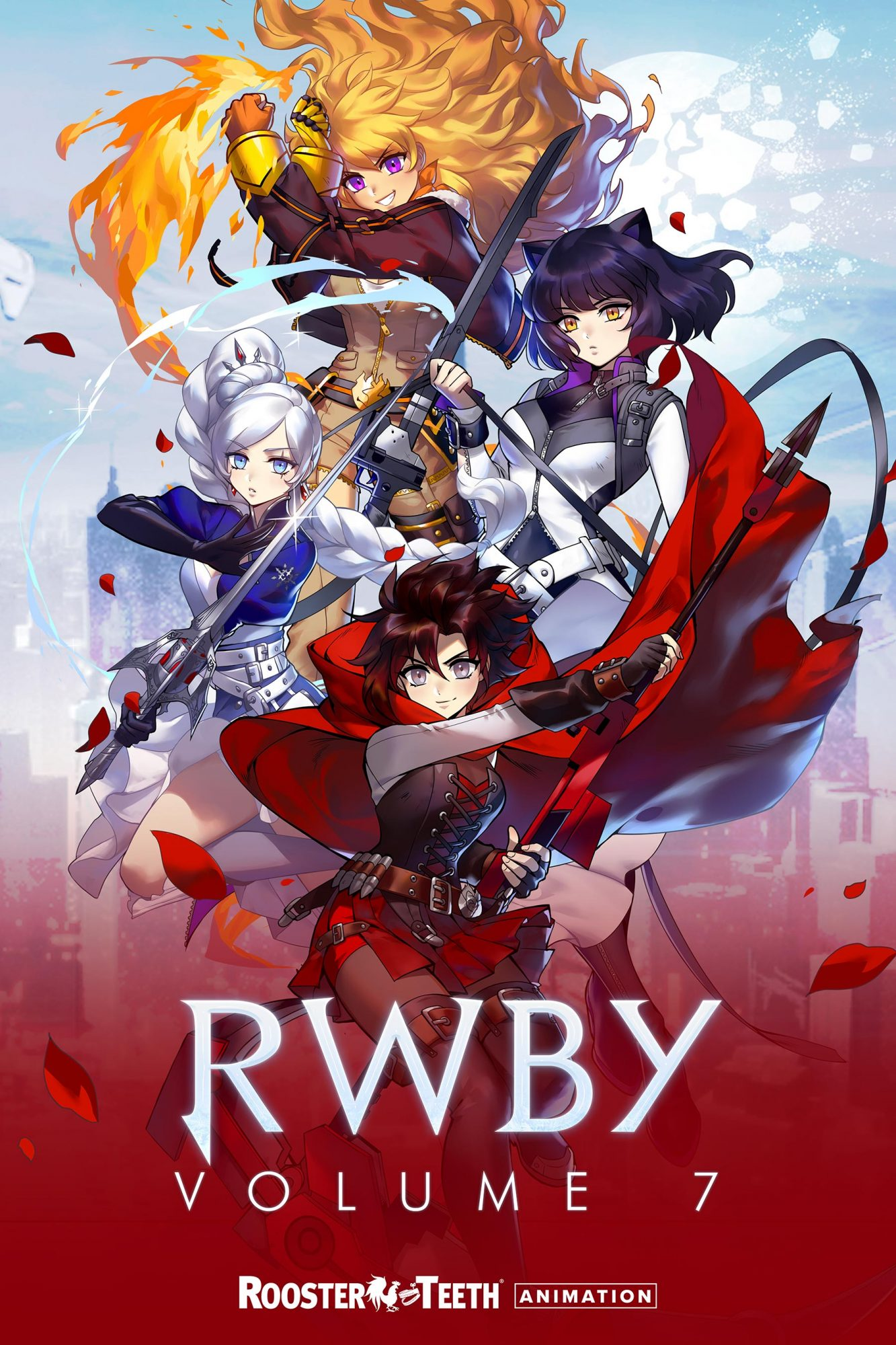 RWBY' Volume 7 key art CR: Rooster Teeth