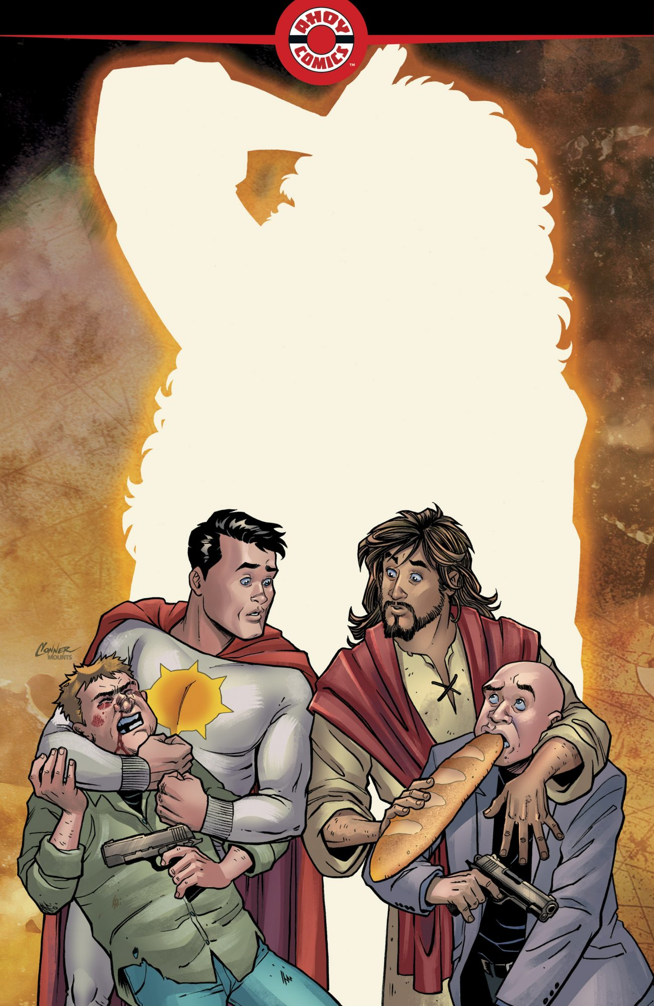 SECOND COMING #1 CR: Ahoy Comics