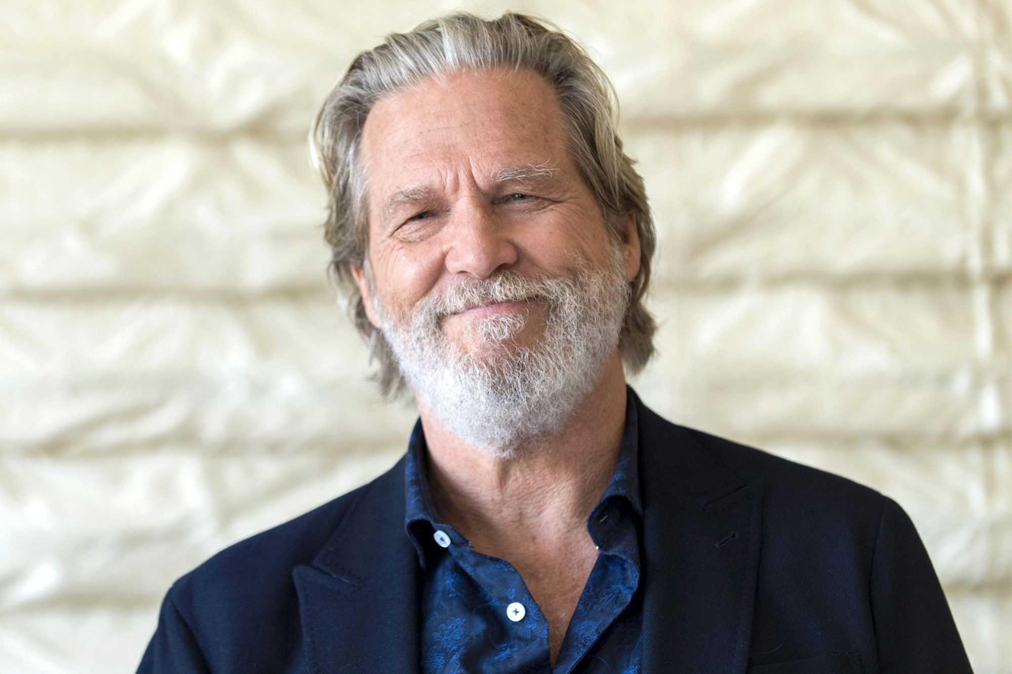 Jeff Bridges, who stars in 'Bad Times at El Royale', at the Roosevelt Hotel, Hollywood, USA - 23 Sep 2018
