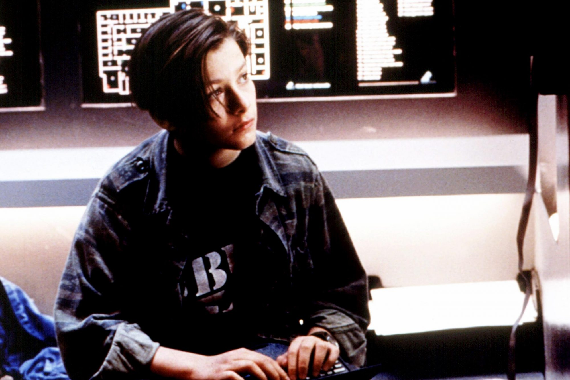 TERMINATOR 2: JUDGEMENT DAY, Edward Furlong, 1991, © TriStar/courtesy Everett Collection, TR2 123 D,