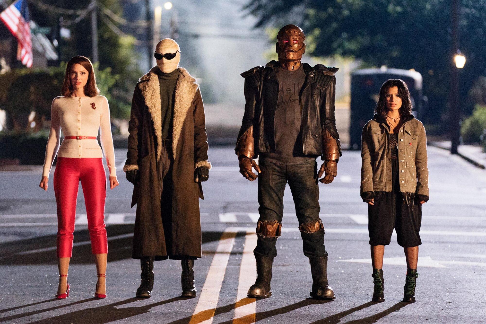 Doom Patrol Season 2 For 2020 Premiere Announced At Comic Con Ew Com
