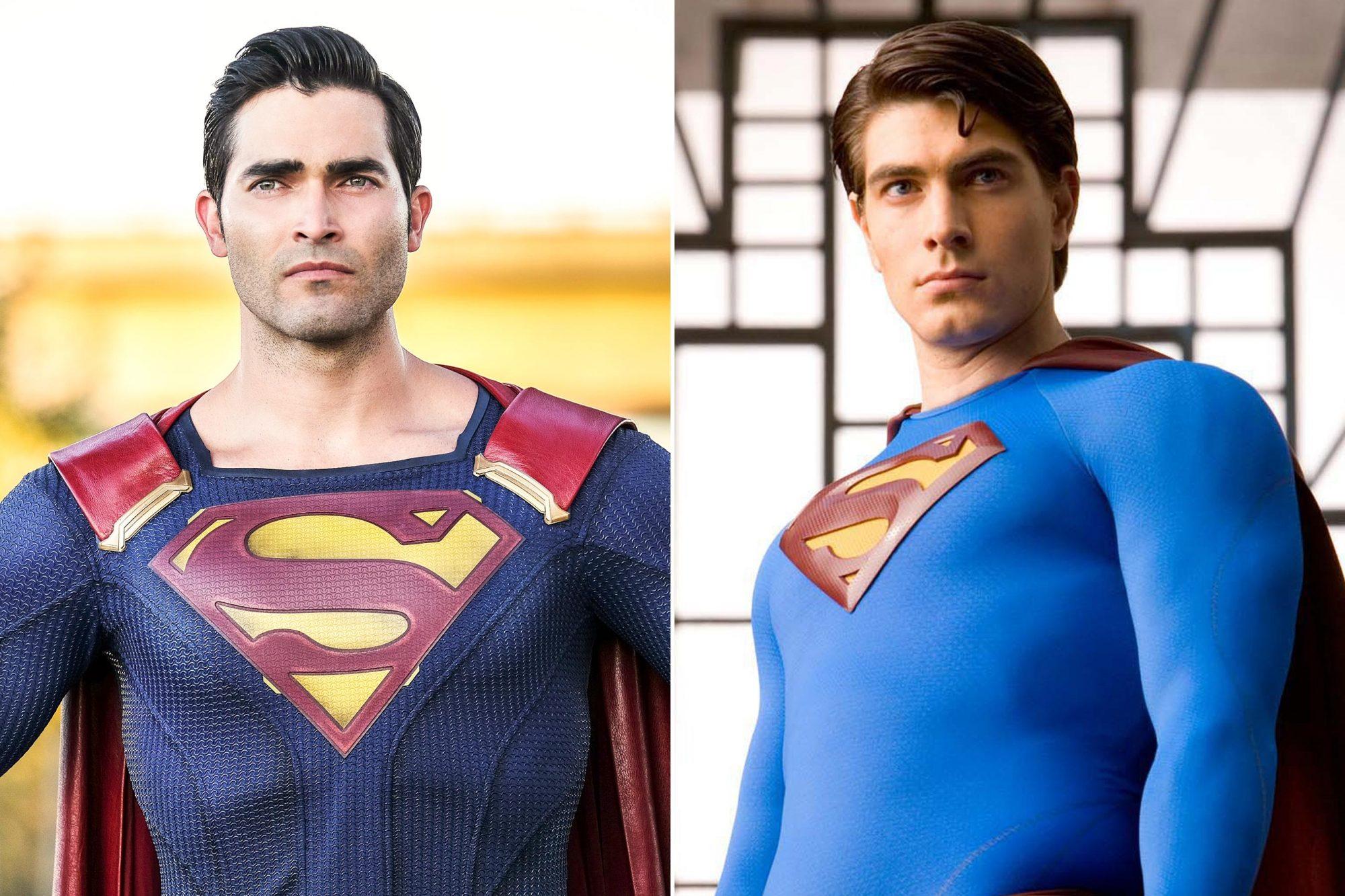 Superman: Tyler Hoechlin; Brandon Routh