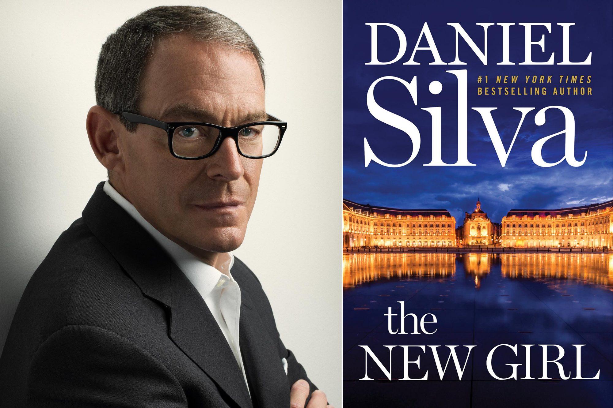 Daniel Silva author photo Photo credit: Marco Grob The New Girl by Daniel Silva CR: HarperCollins