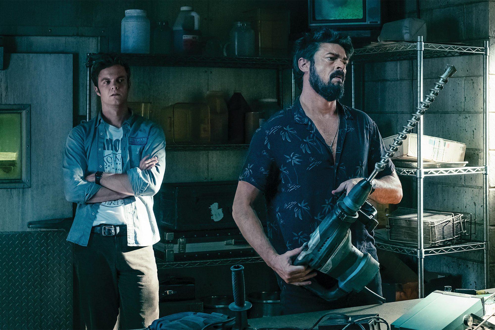 The Boys Season 1, Episode 2 Jack Quaid and Karl Urban CR: Jan Thijs/Amazon Prime Video
